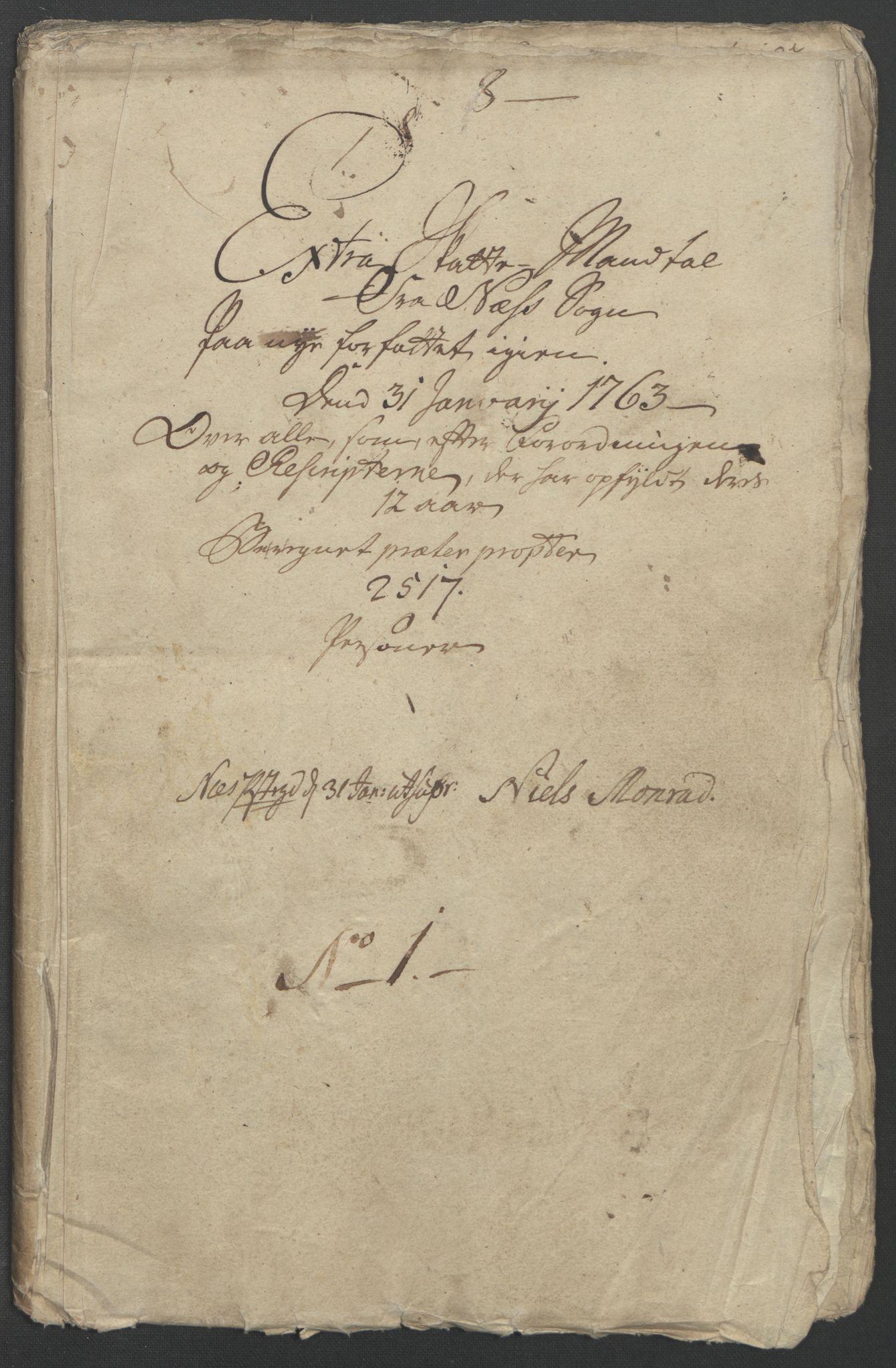 RA, Rentekammeret inntil 1814, Reviderte regnskaper, Fogderegnskap, R12/L0802: Ekstraskatten Øvre Romerike, 1762, s. 154
