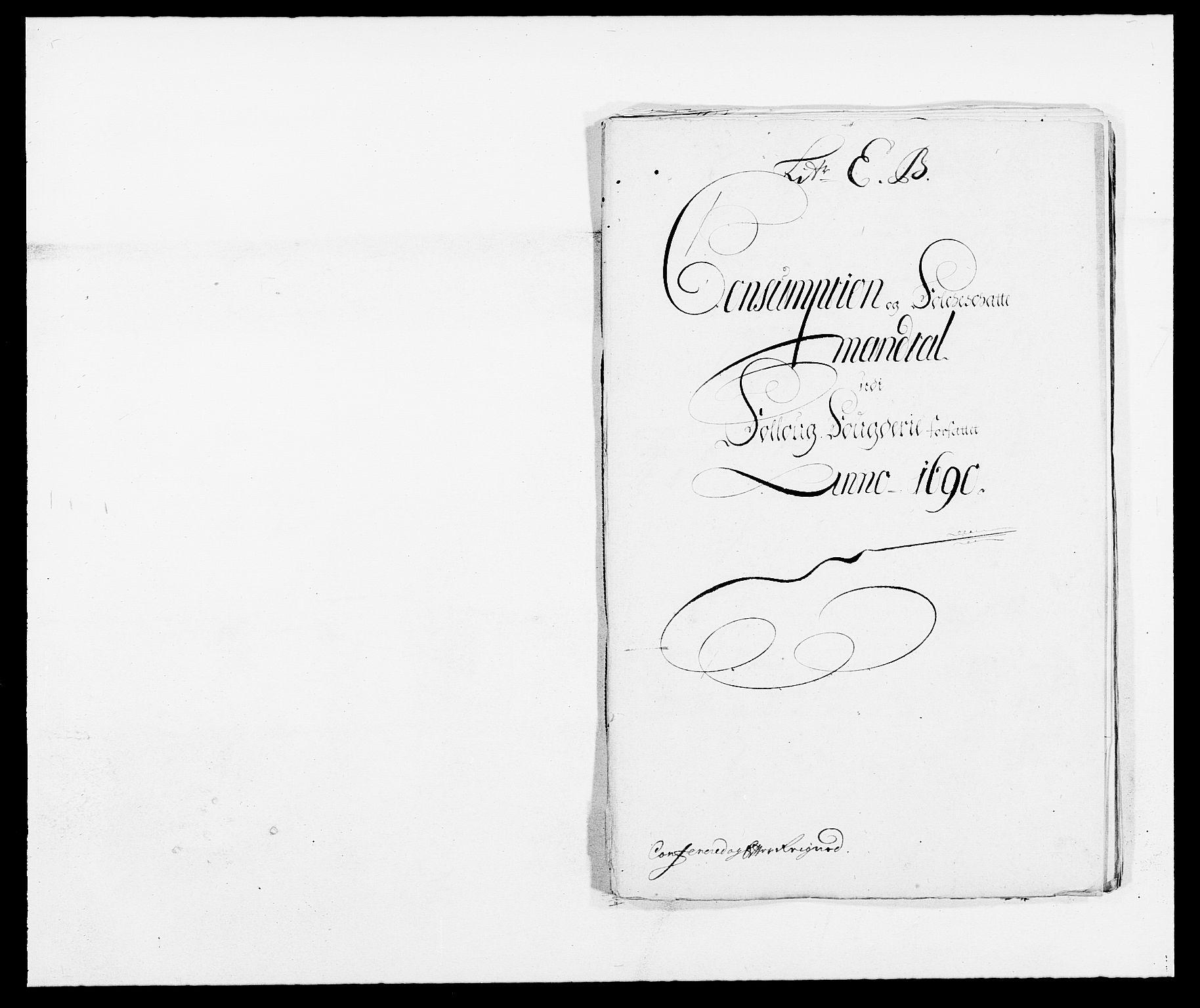RA, Rentekammeret inntil 1814, Reviderte regnskaper, Fogderegnskap, R09/L0435: Fogderegnskap Follo, 1689-1691, s. 360