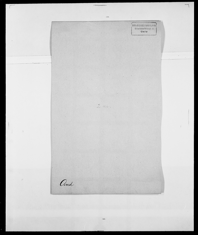 SAO, Delgobe, Charles Antoine - samling, D/Da/L0002: Anker, Ancher - Bauner, s. 24