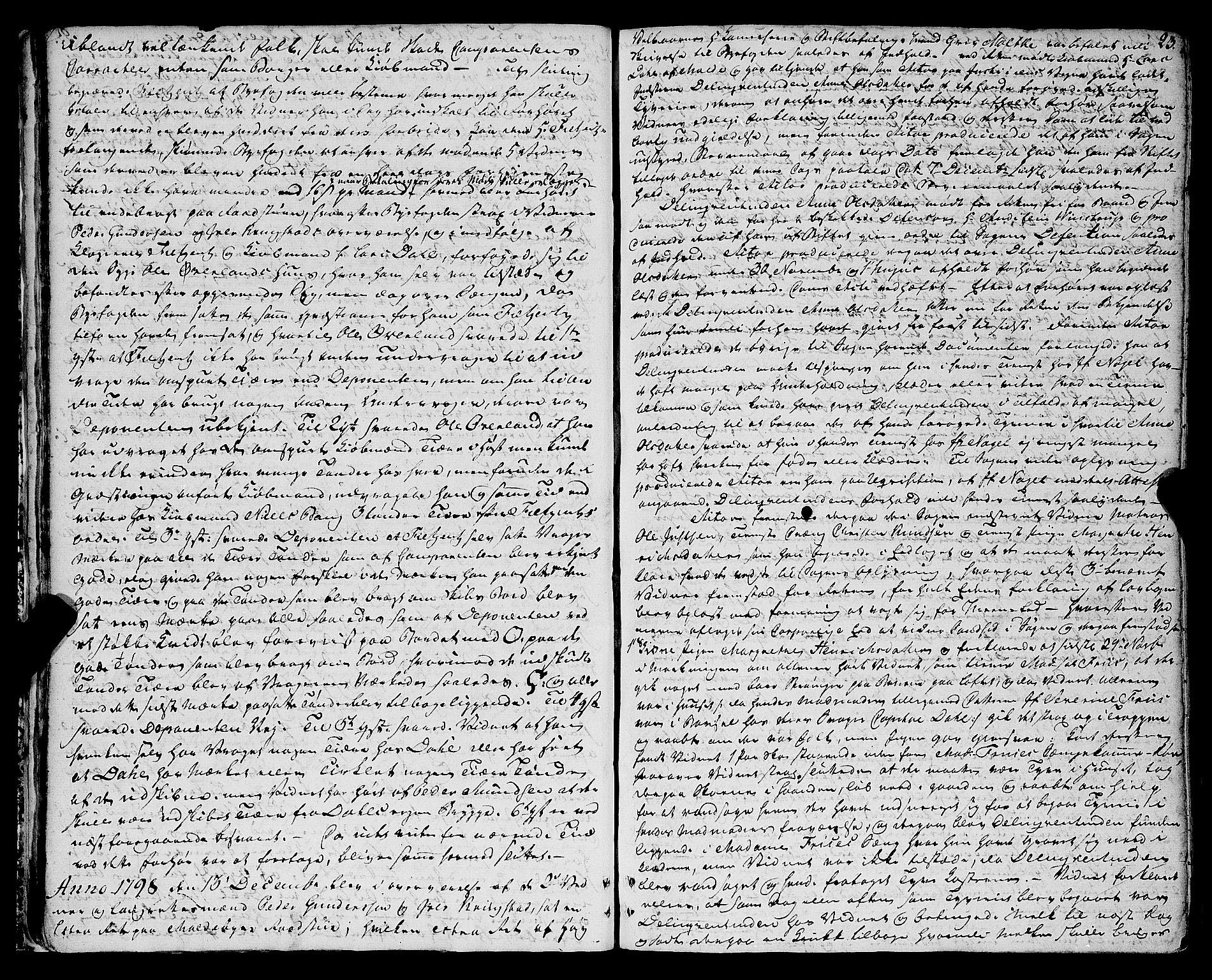 SAT, Molde byfogd, 1A/L0002: Justisprotokoll, 1797-1831, s. 22b-23a