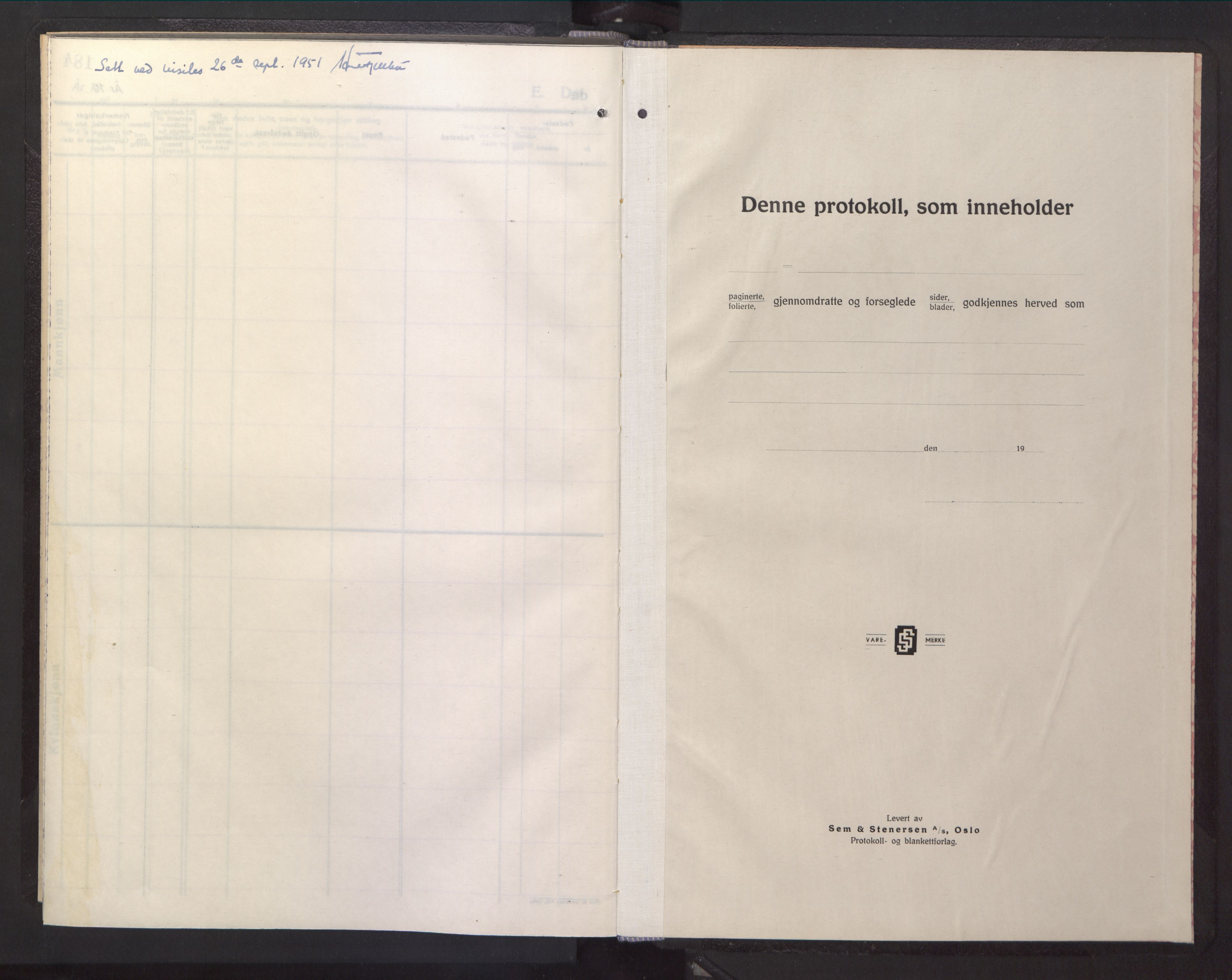 SAT, Ministerialprotokoller, klokkerbøker og fødselsregistre - Sør-Trøndelag, 669/L0833: Klokkerbok nr. 669C03, 1945-1950