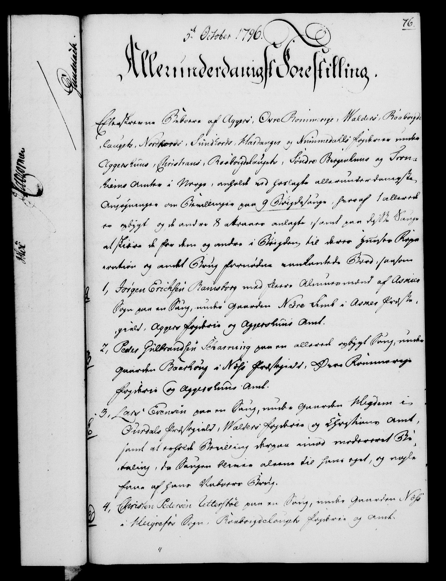 RA, Rentekammeret, Kammerkanselliet, G/Gf/Gfa/L0078: Norsk relasjons- og resolusjonsprotokoll (merket RK 52.78), 1796, s. 401