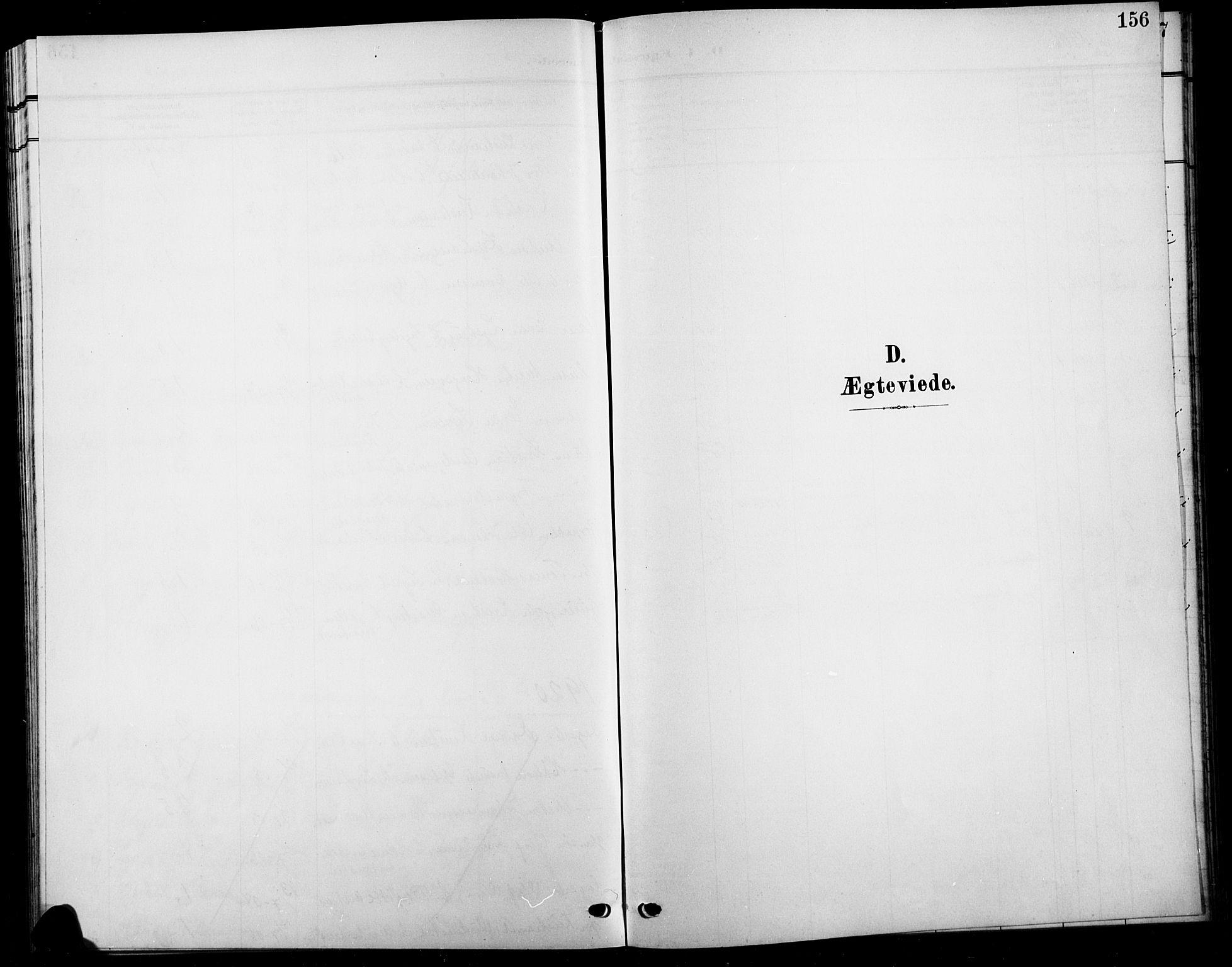 SAH, Biri prestekontor, Klokkerbok nr. 5, 1906-1919, s. 156