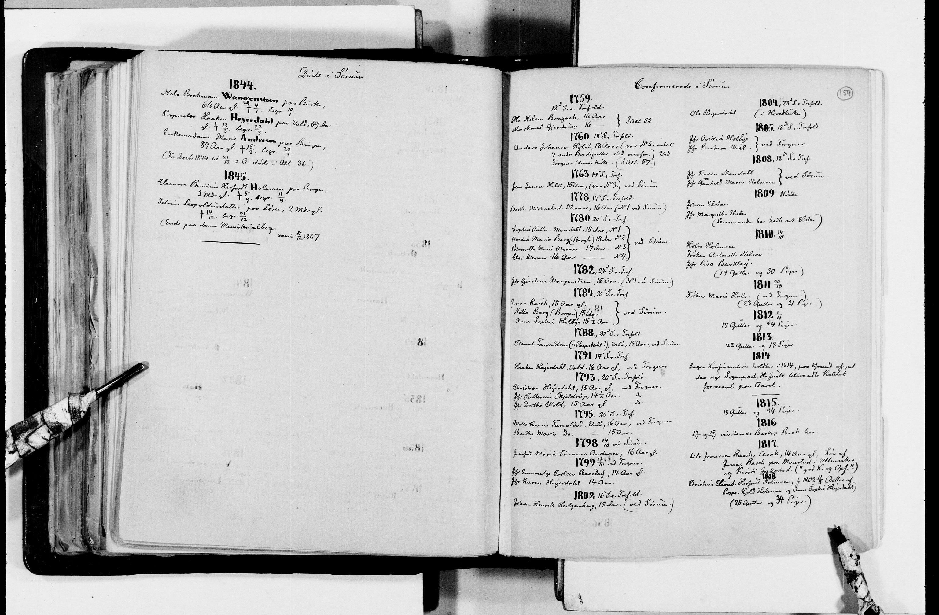 RA, Lassens samlinger, F/Fc, s. 159