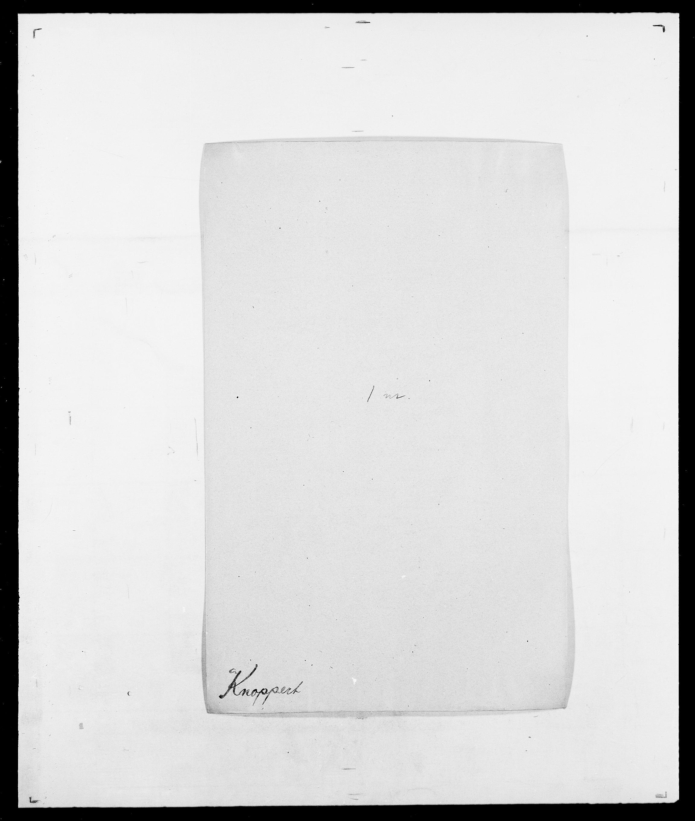 SAO, Delgobe, Charles Antoine - samling, D/Da/L0021: Klagenberg - Kristoft, s. 305