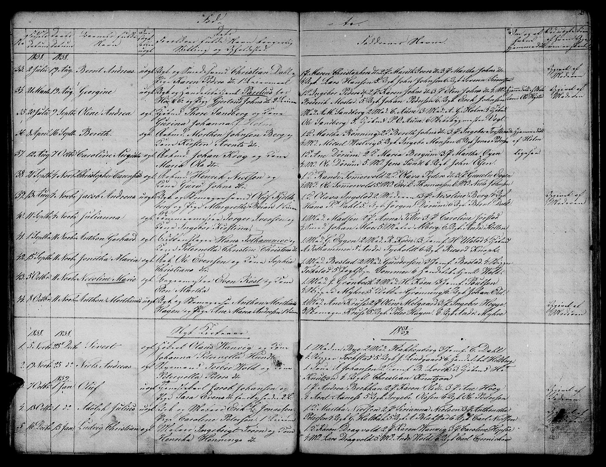 SAT, Ministerialprotokoller, klokkerbøker og fødselsregistre - Sør-Trøndelag, 604/L0182: Ministerialbok nr. 604A03, 1818-1850, s. 23