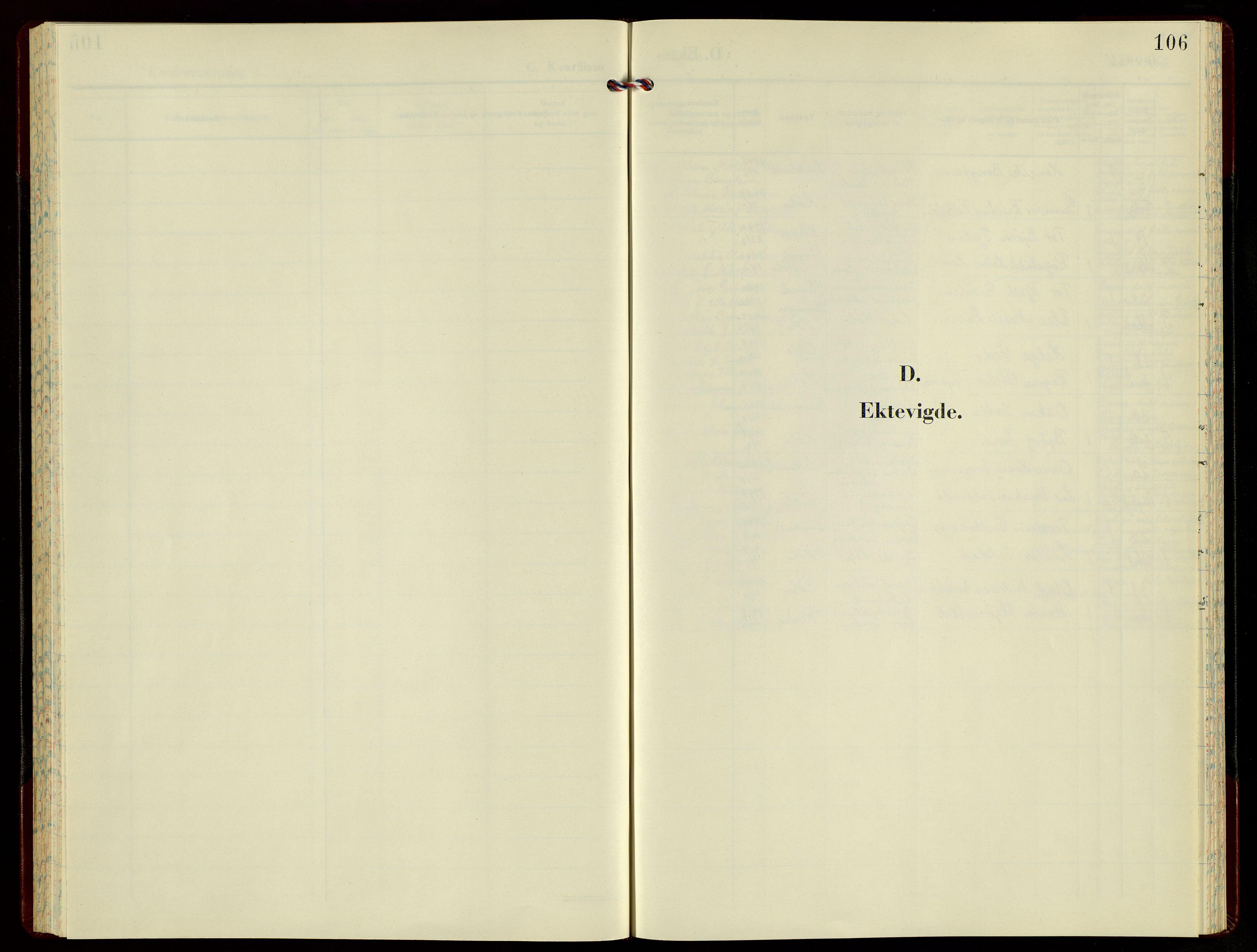 SAST, Høgsfjord sokneprestkontor, H/Ha/Hab/L0008: Klokkerbok nr. B 8, 1966-1979, s. 106