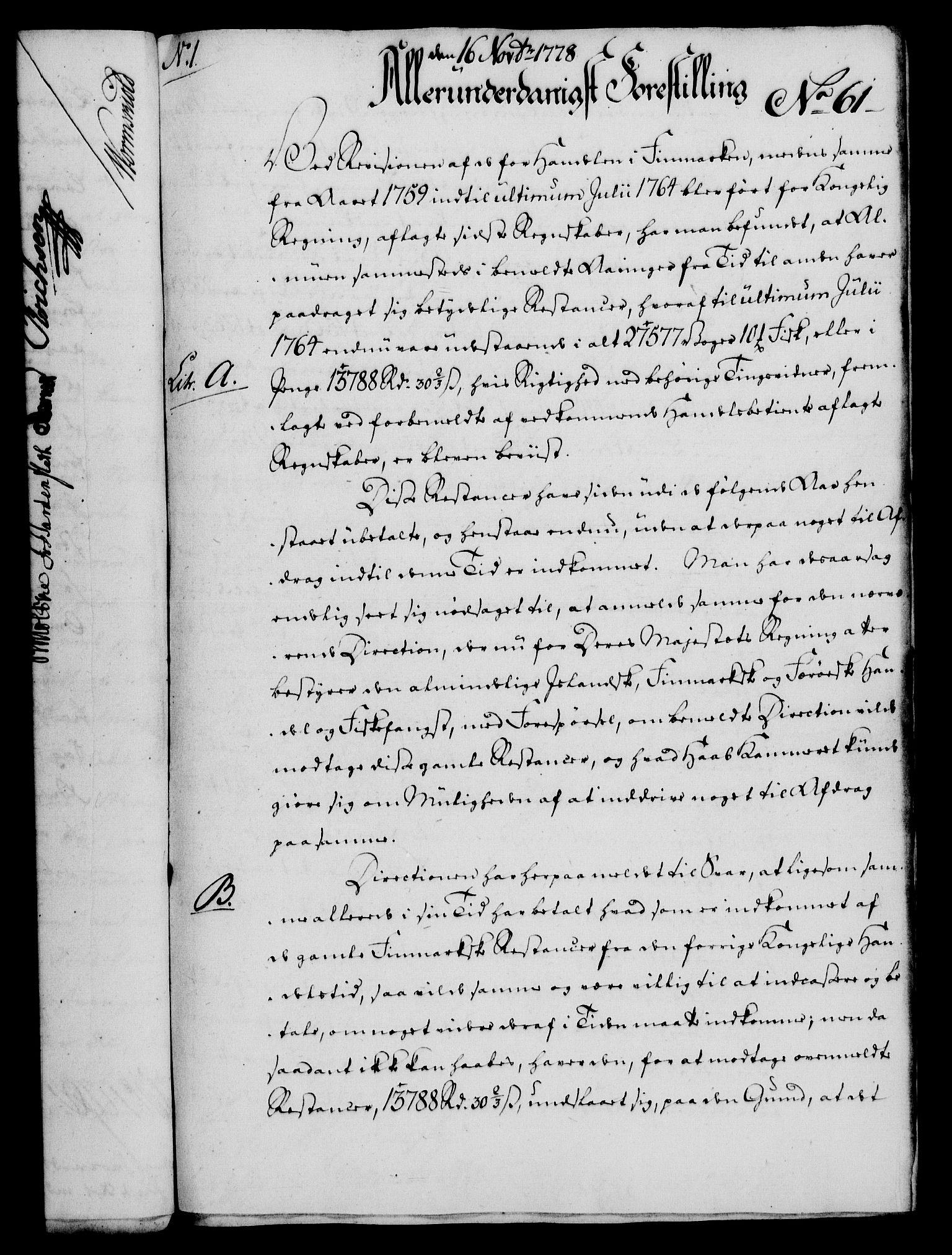 RA, Rentekammeret, Kammerkanselliet, G/Gf/Gfa/L0060: Norsk relasjons- og resolusjonsprotokoll (merket RK 52.60), 1778, s. 547