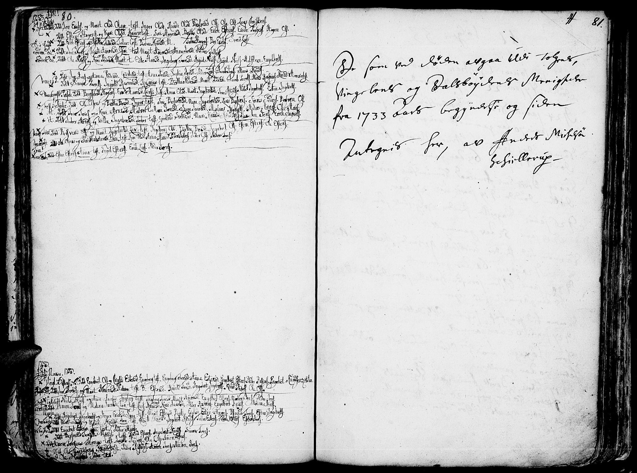 SAH, Tolga prestekontor, K/L0001: Ministerialbok nr. 1, 1733-1767, s. 80-81