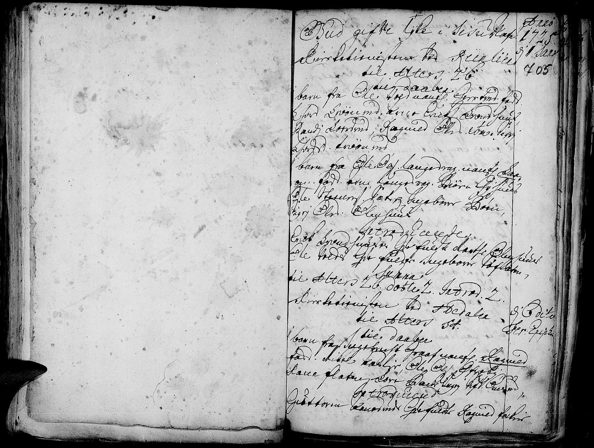 SAH, Aurdal prestekontor, Ministerialbok nr. 1-3, 1692-1730, s. 705