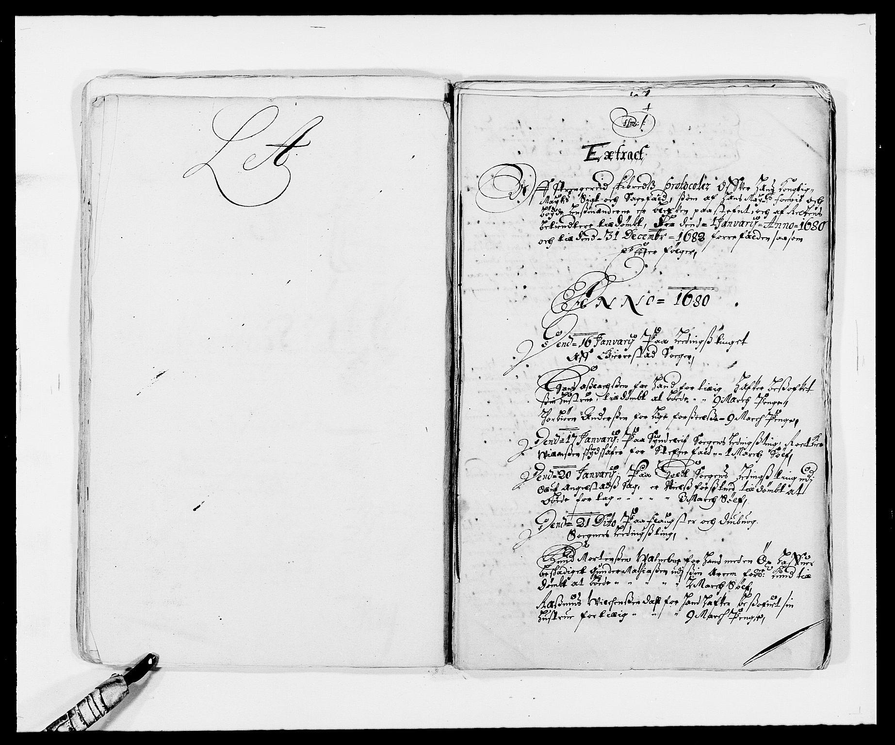 RA, Rentekammeret inntil 1814, Reviderte regnskaper, Fogderegnskap, R39/L2304: Fogderegnskap Nedenes, 1680-1682, s. 182