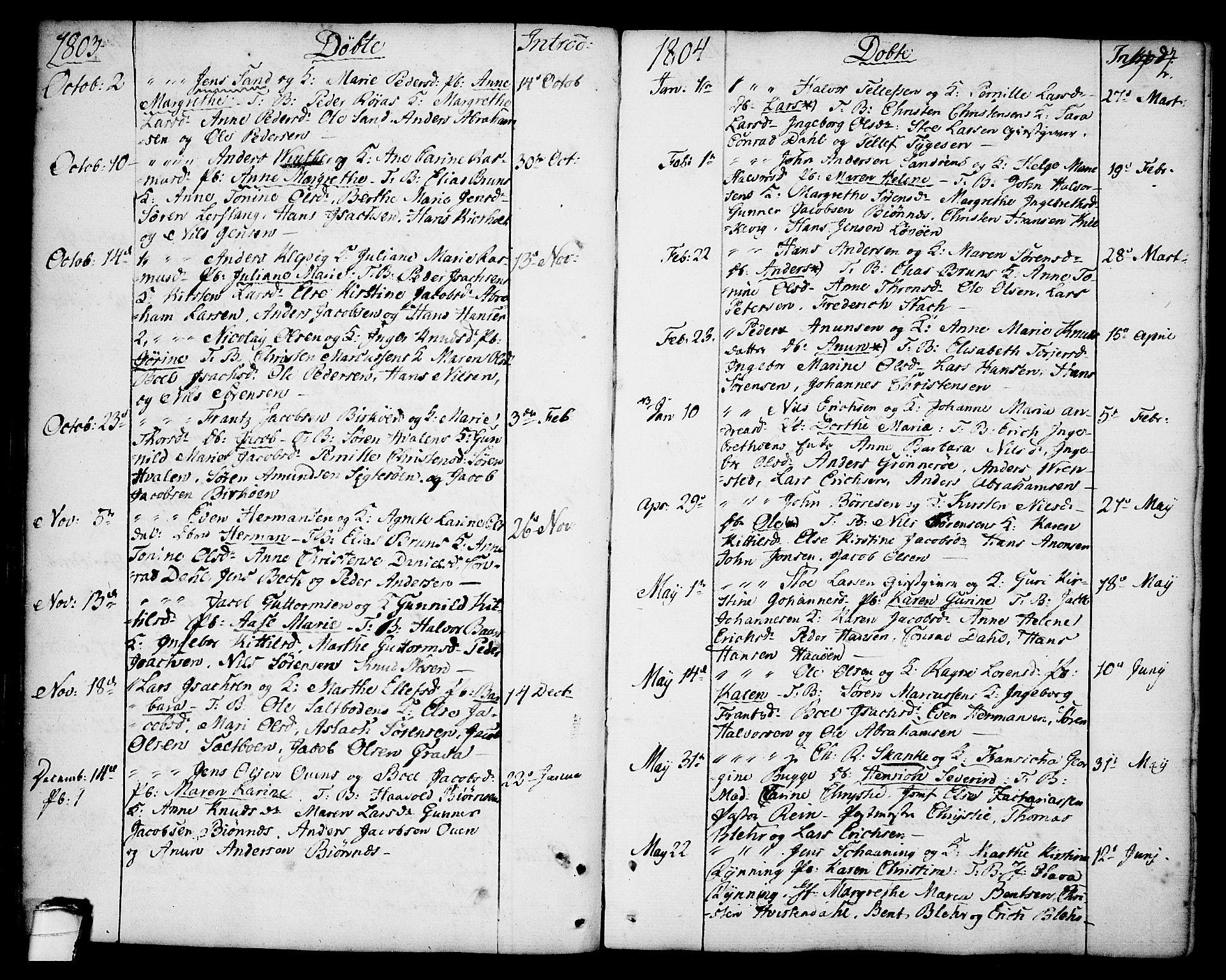 SAKO, Brevik kirkebøker, F/Fa/L0003: Ministerialbok nr. 3, 1764-1814, s. 44