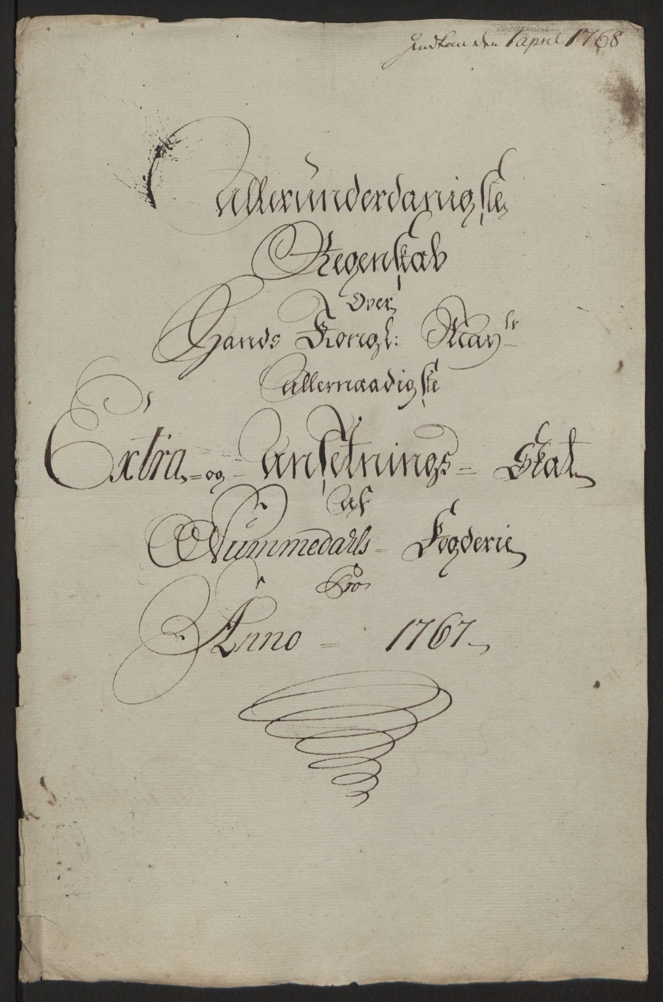 RA, Rentekammeret inntil 1814, Reviderte regnskaper, Fogderegnskap, R64/L4502: Ekstraskatten Namdal, 1762-1772, s. 231