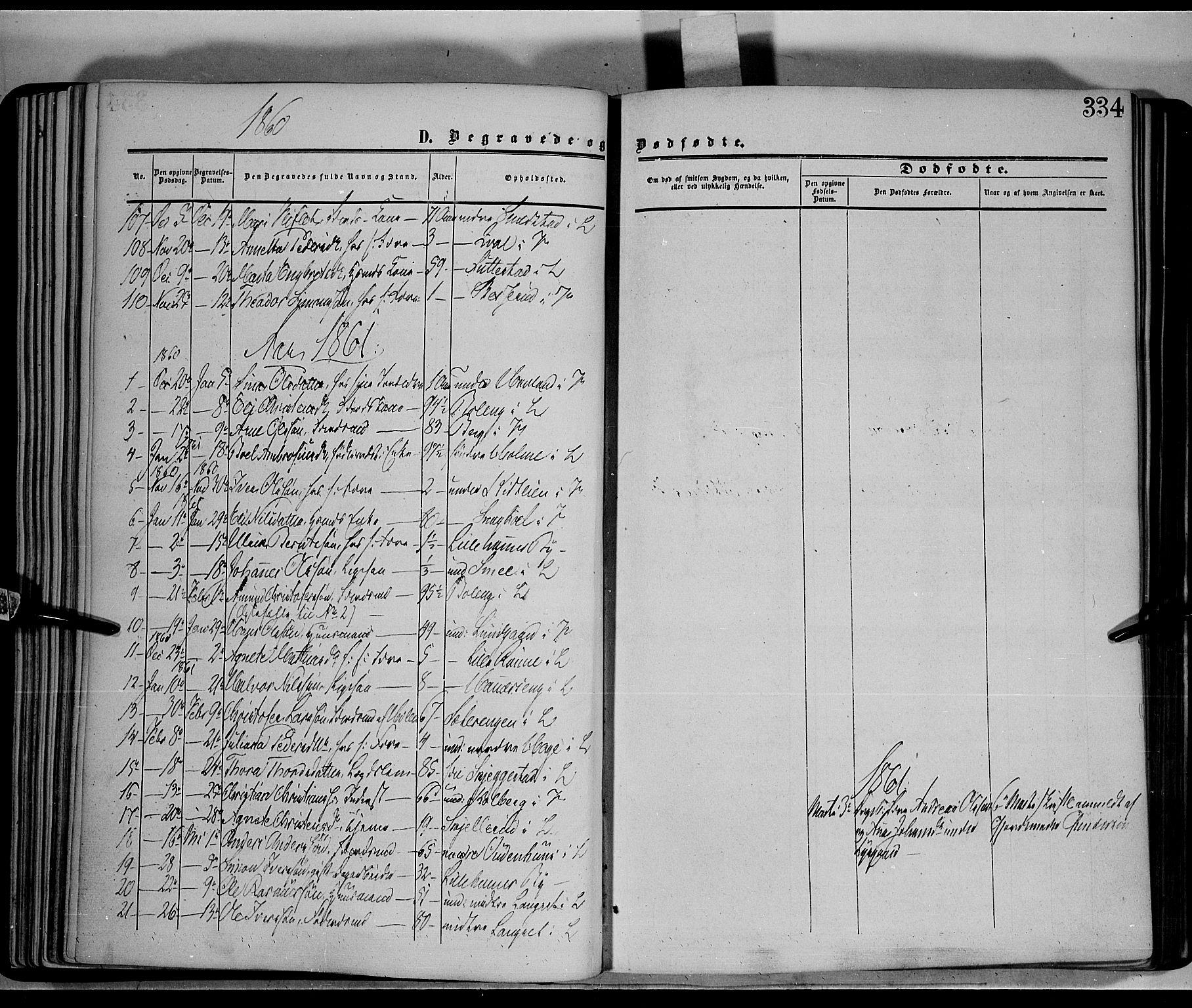 SAH, Fåberg prestekontor, Ministerialbok nr. 6B, 1855-1867, s. 334