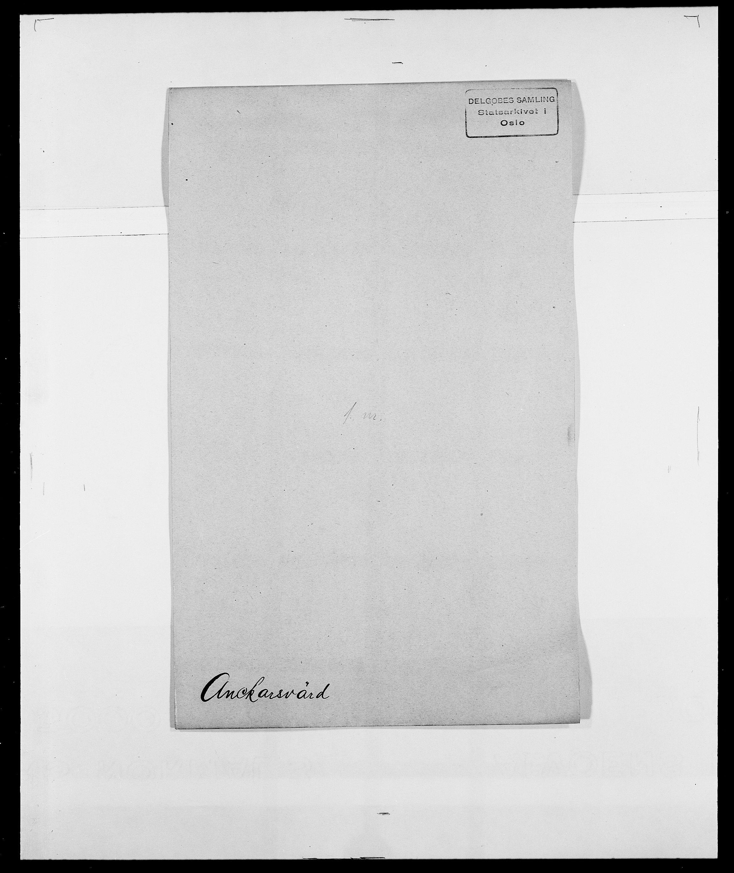 SAO, Delgobe, Charles Antoine - samling, D/Da/L0002: Anker, Ancher - Bauner, s. 22