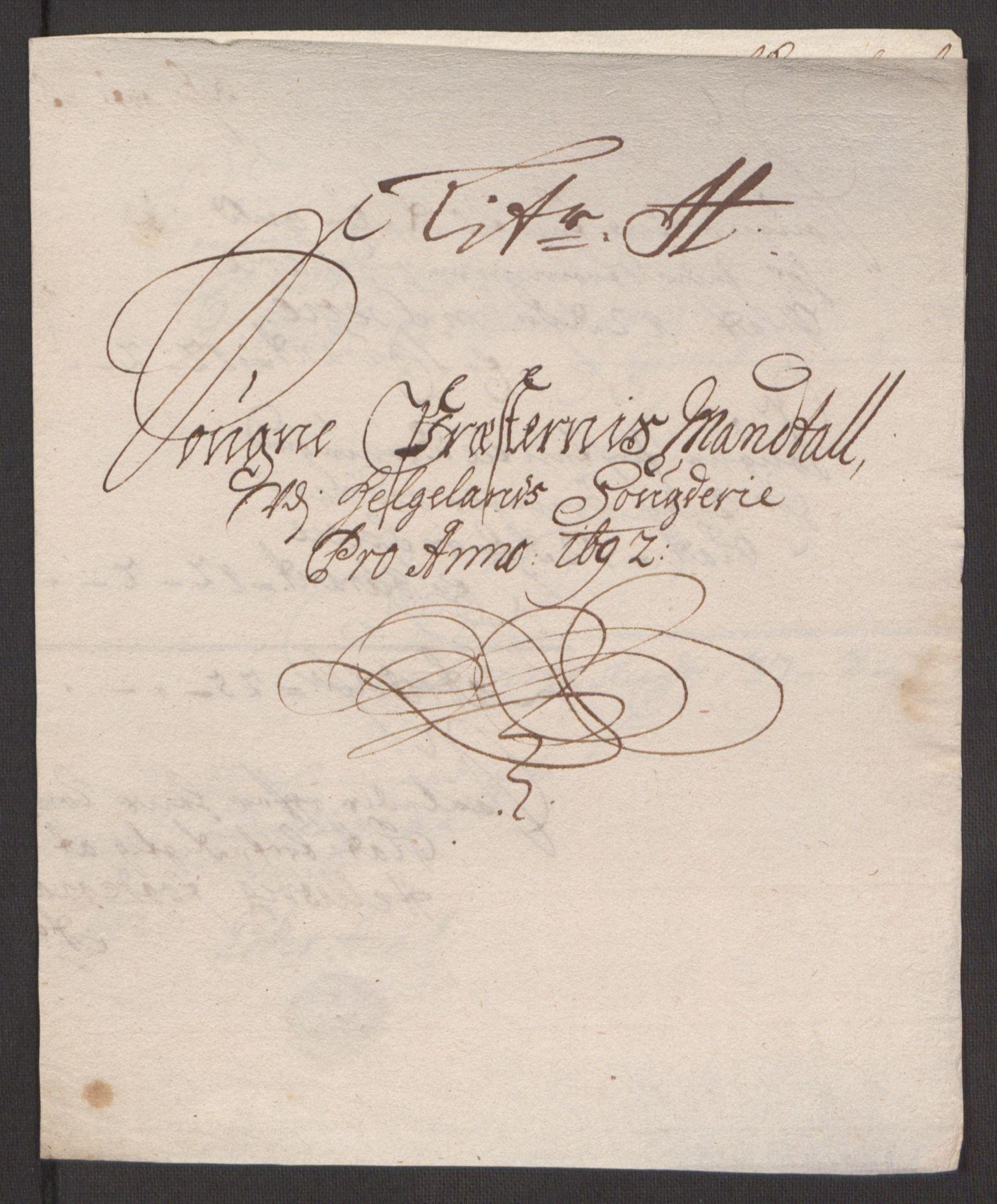 RA, Rentekammeret inntil 1814, Reviderte regnskaper, Fogderegnskap, R65/L4504: Fogderegnskap Helgeland, 1691-1692, s. 309