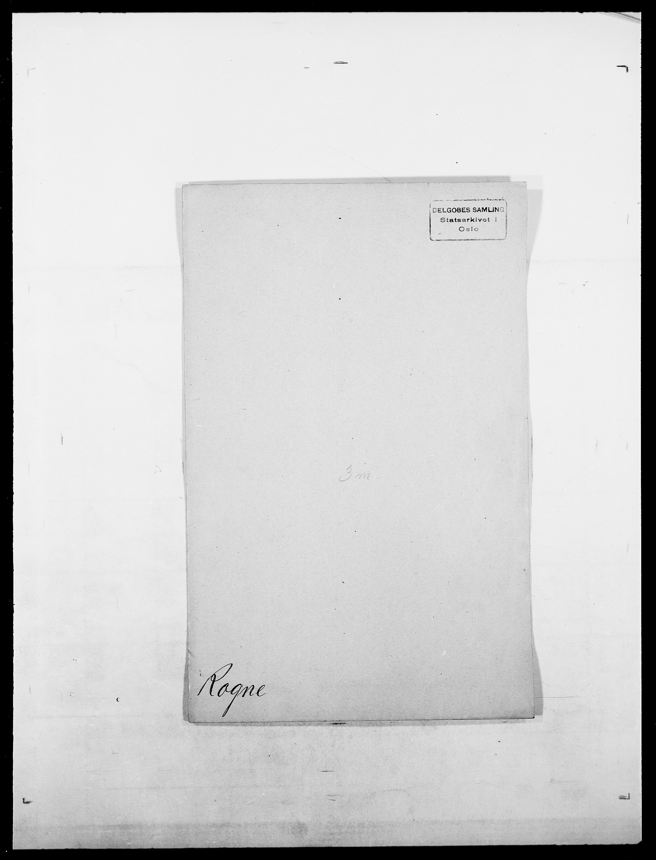 SAO, Delgobe, Charles Antoine - samling, D/Da/L0033: Roald - Røyem, s. 83