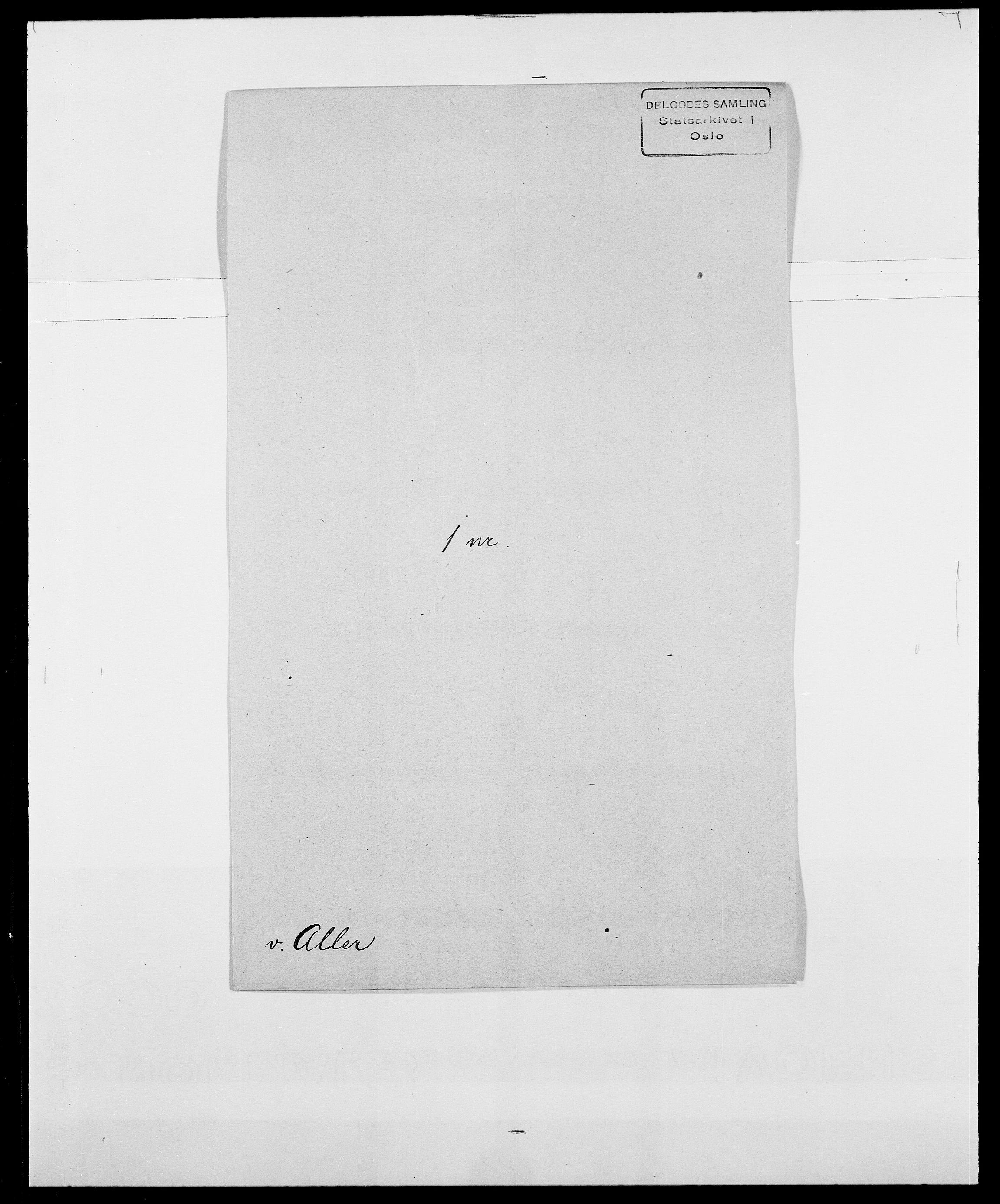 SAO, Delgobe, Charles Antoine - samling, D/Da/L0001: Aabye - Angerman, s. 416