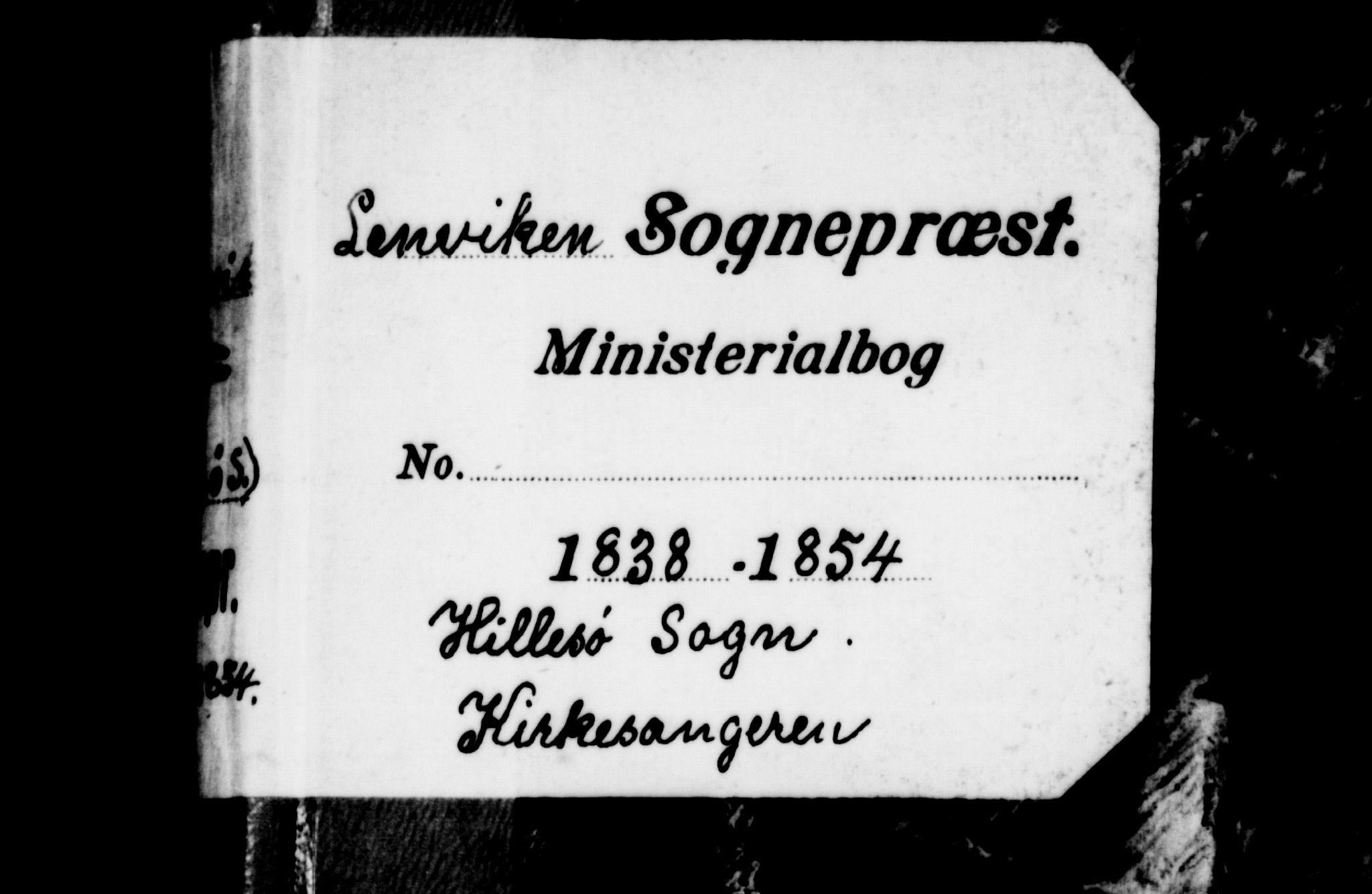 SATØ, Lenvik sokneprestembete, H/Ha: Klokkerbok nr. 18, 1838-1854