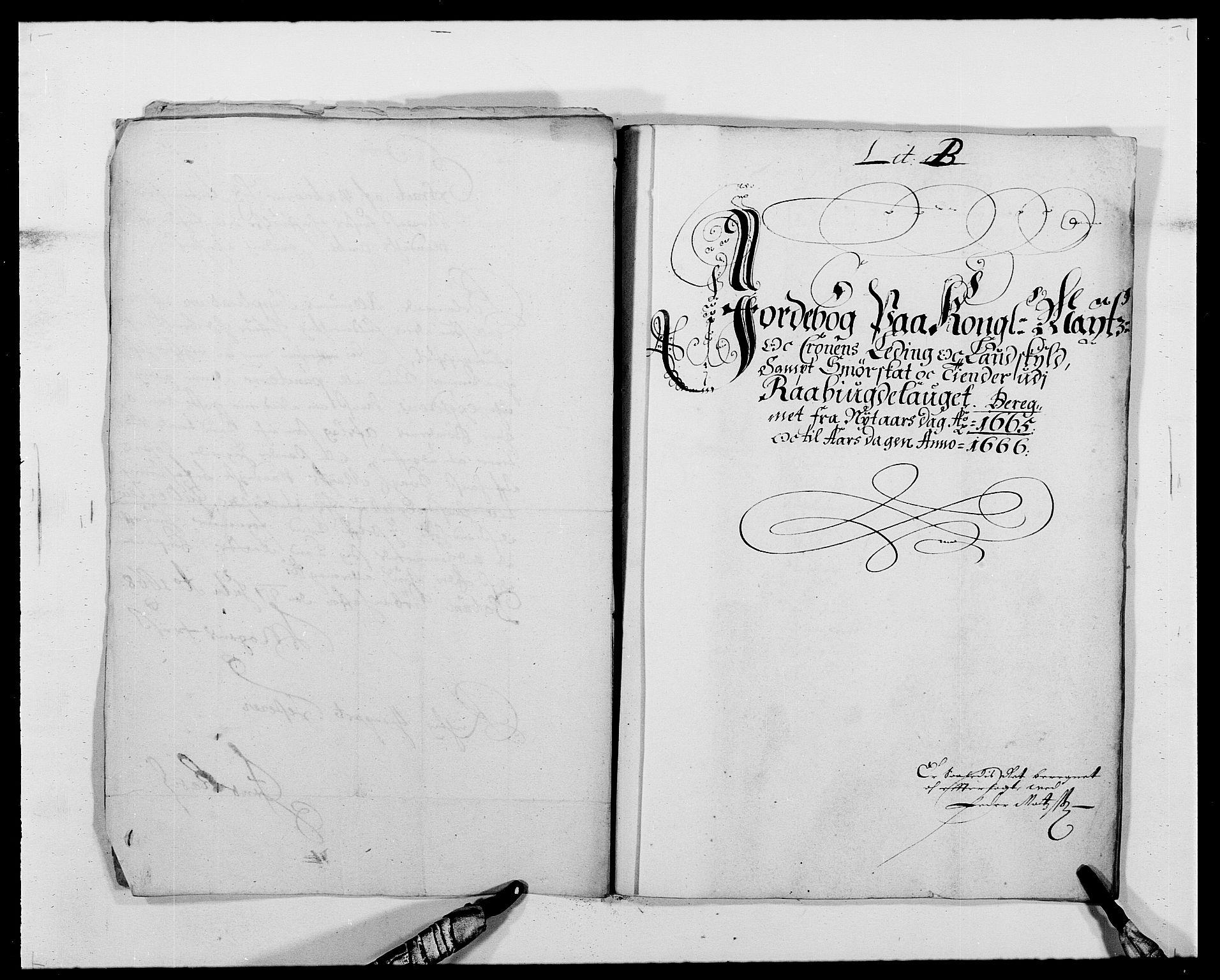 RA, Rentekammeret inntil 1814, Reviderte regnskaper, Fogderegnskap, R40/L2431: Fogderegnskap Råbyggelag, 1664-1668, s. 114