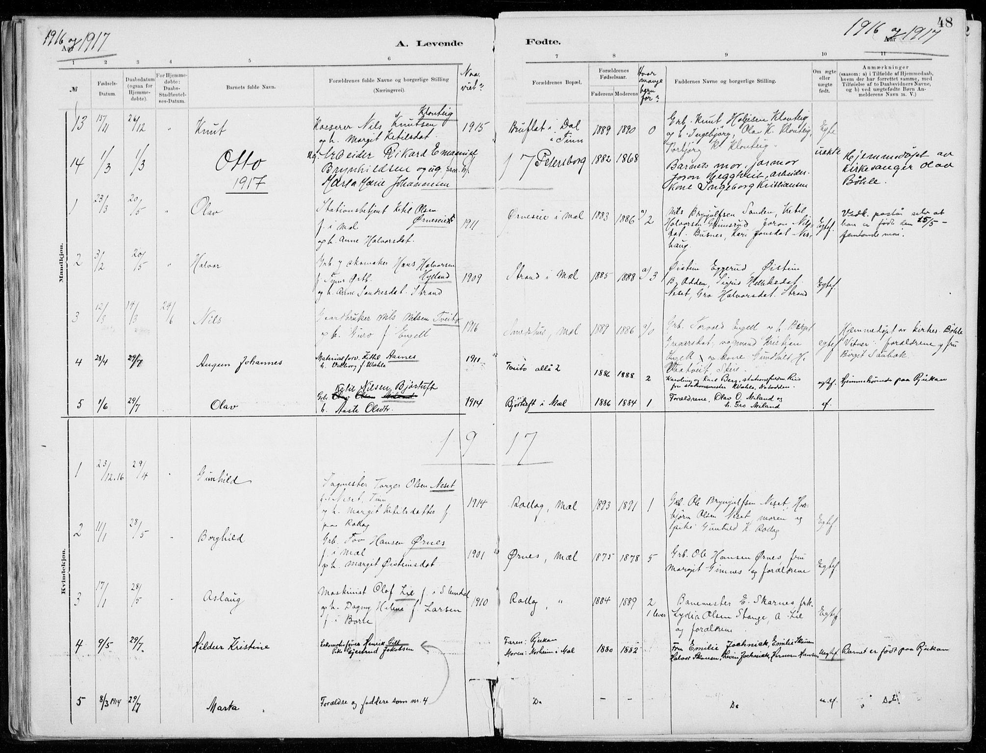 SAKO, Tinn kirkebøker, F/Fb/L0002: Ministerialbok nr. II 2, 1878-1917, s. 48