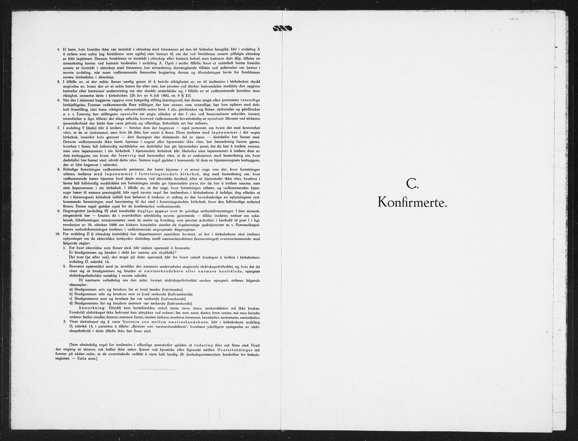 SAST, St. Petri sokneprestkontor, 30/30BB/L0014: Klokkerbok nr. B 14, 1940-1943