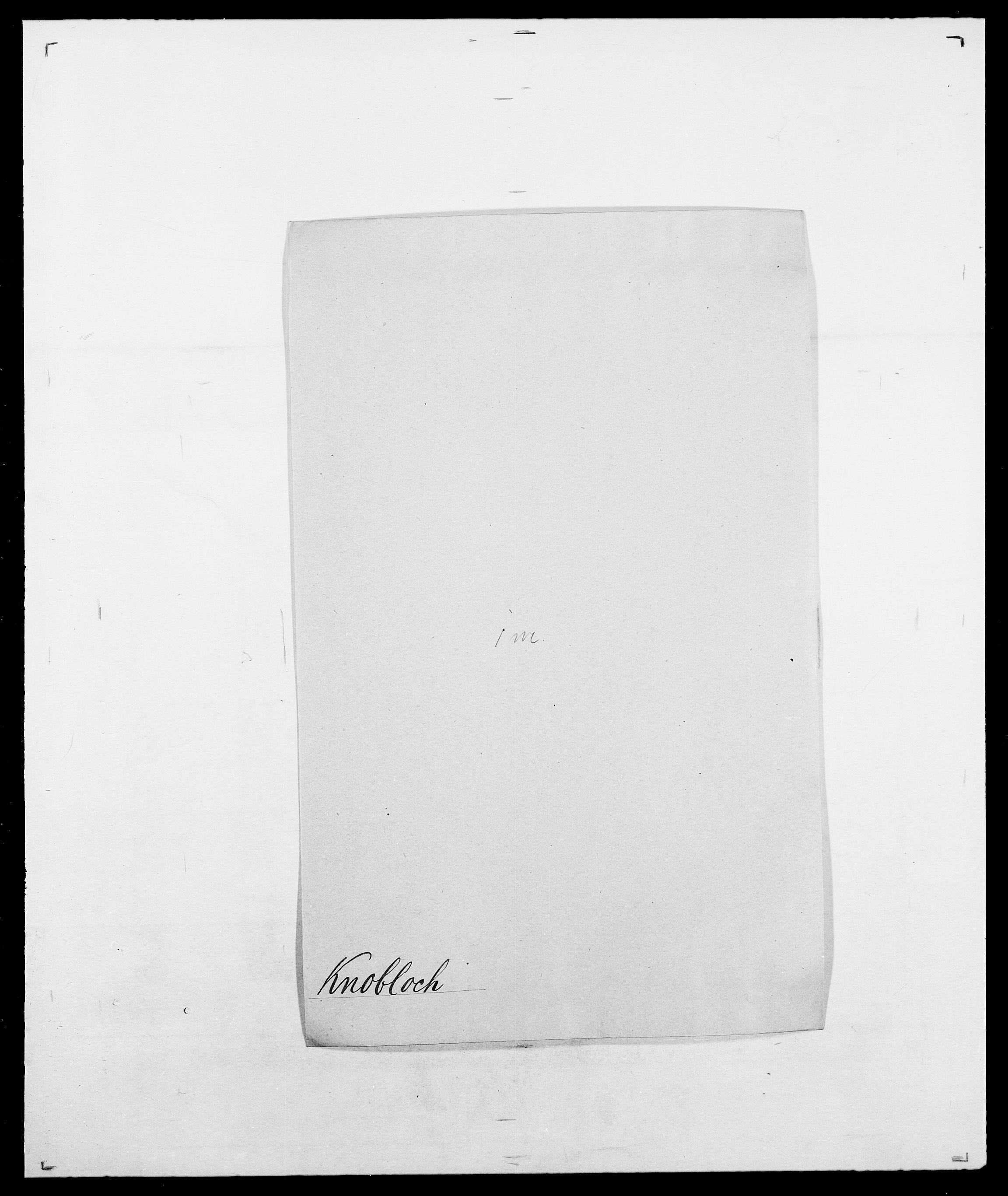 SAO, Delgobe, Charles Antoine - samling, D/Da/L0021: Klagenberg - Kristoft, s. 264
