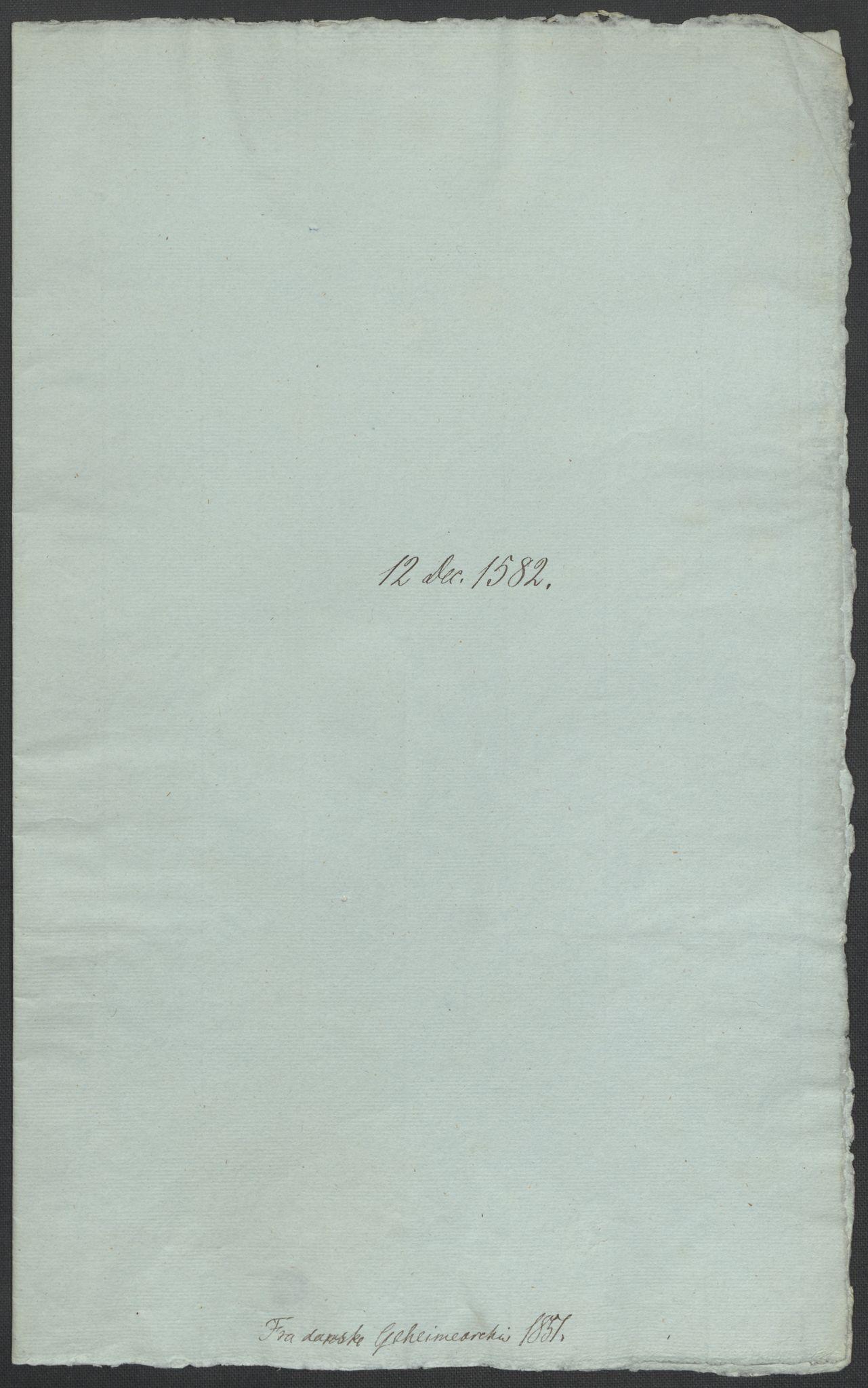 RA, Riksarkivets diplomsamling, F02/L0084: Dokumenter, 1582, s. 54