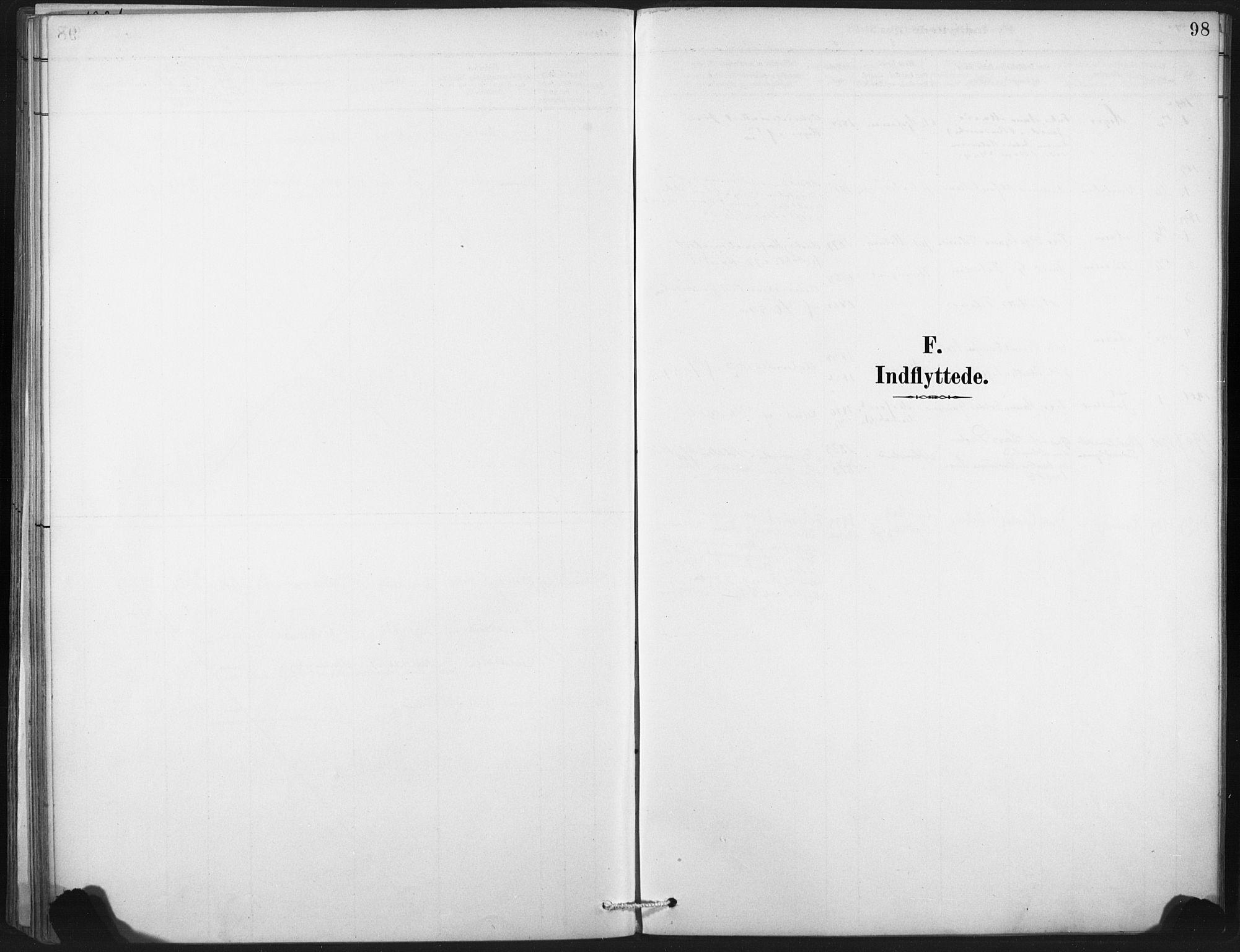 SAT, Ministerialprotokoller, klokkerbøker og fødselsregistre - Nord-Trøndelag, 718/L0175: Ministerialbok nr. 718A01, 1890-1923, s. 98