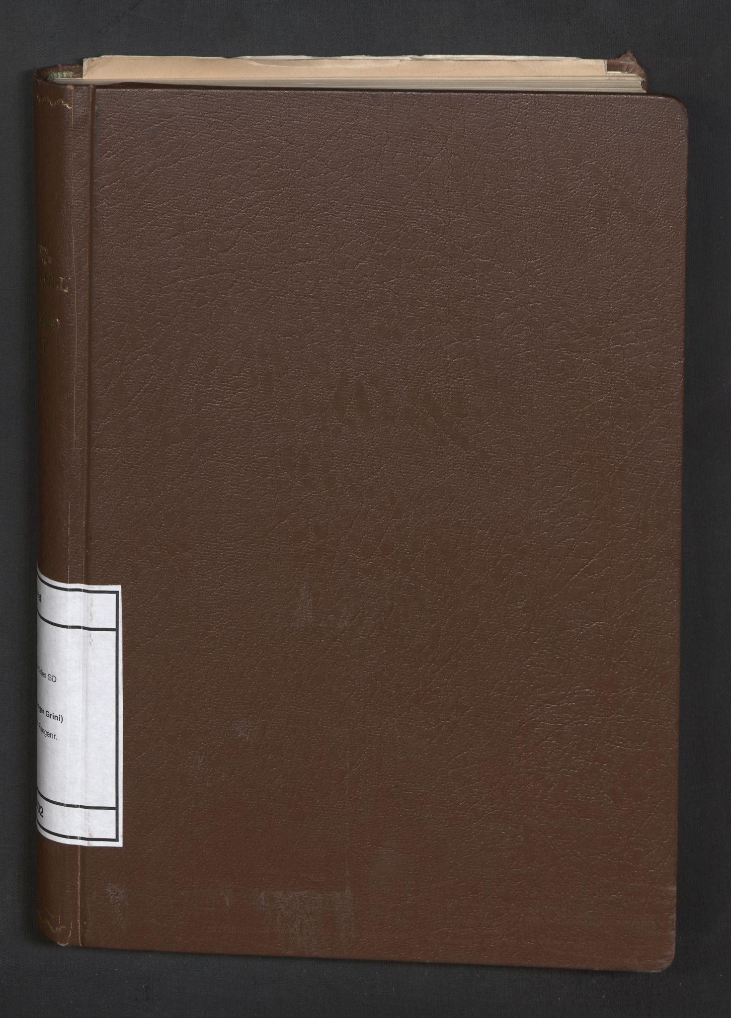 RA, Befehlshaber der Sicherheitspolizei und des SD, F/Fa/Faa/L0002: Fangeprotokoll. - Gefangenen-Buch B. Fangenr. 11-2600, 1941-1942