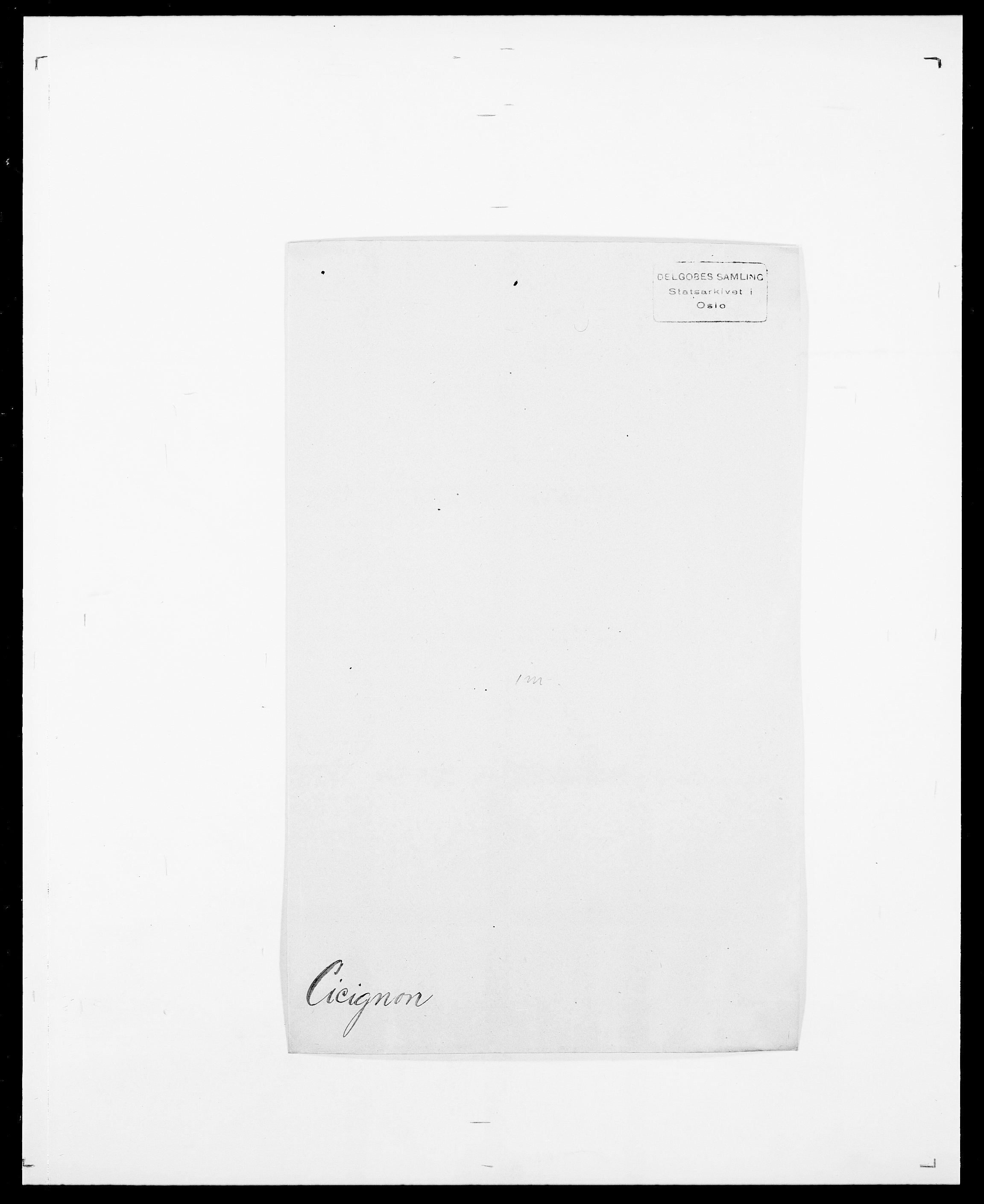 SAO, Delgobe, Charles Antoine - samling, D/Da/L0008: Capjon - Dagenbolt, s. 302