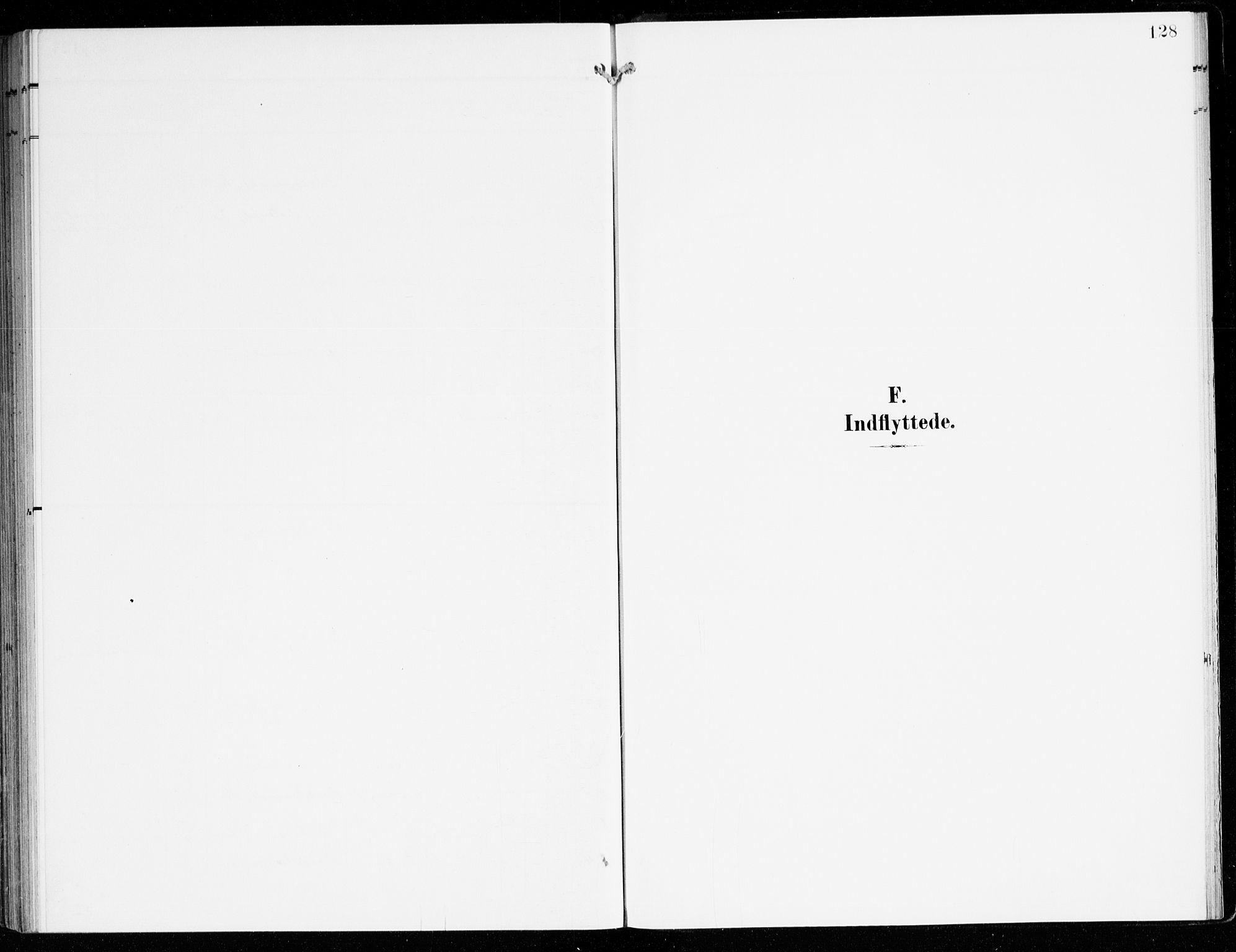 SAB, Hyllestad Sokneprestembete, Ministerialbok nr. D 2, 1905-1919, s. 128
