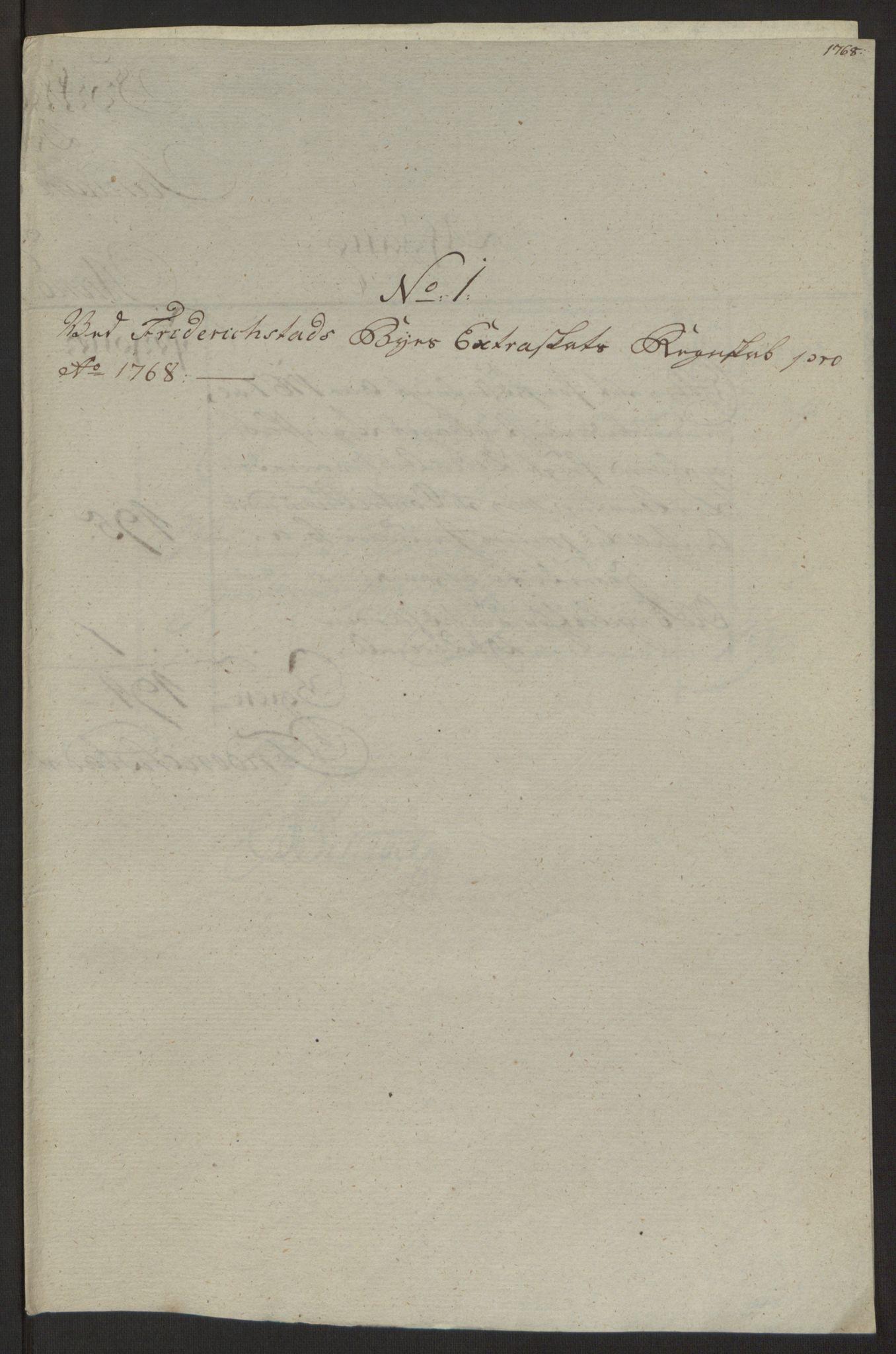 RA, Rentekammeret inntil 1814, Reviderte regnskaper, Byregnskaper, R/Rb/L0029: [B3] Kontribusjonsregnskap, 1762-1772, s. 278