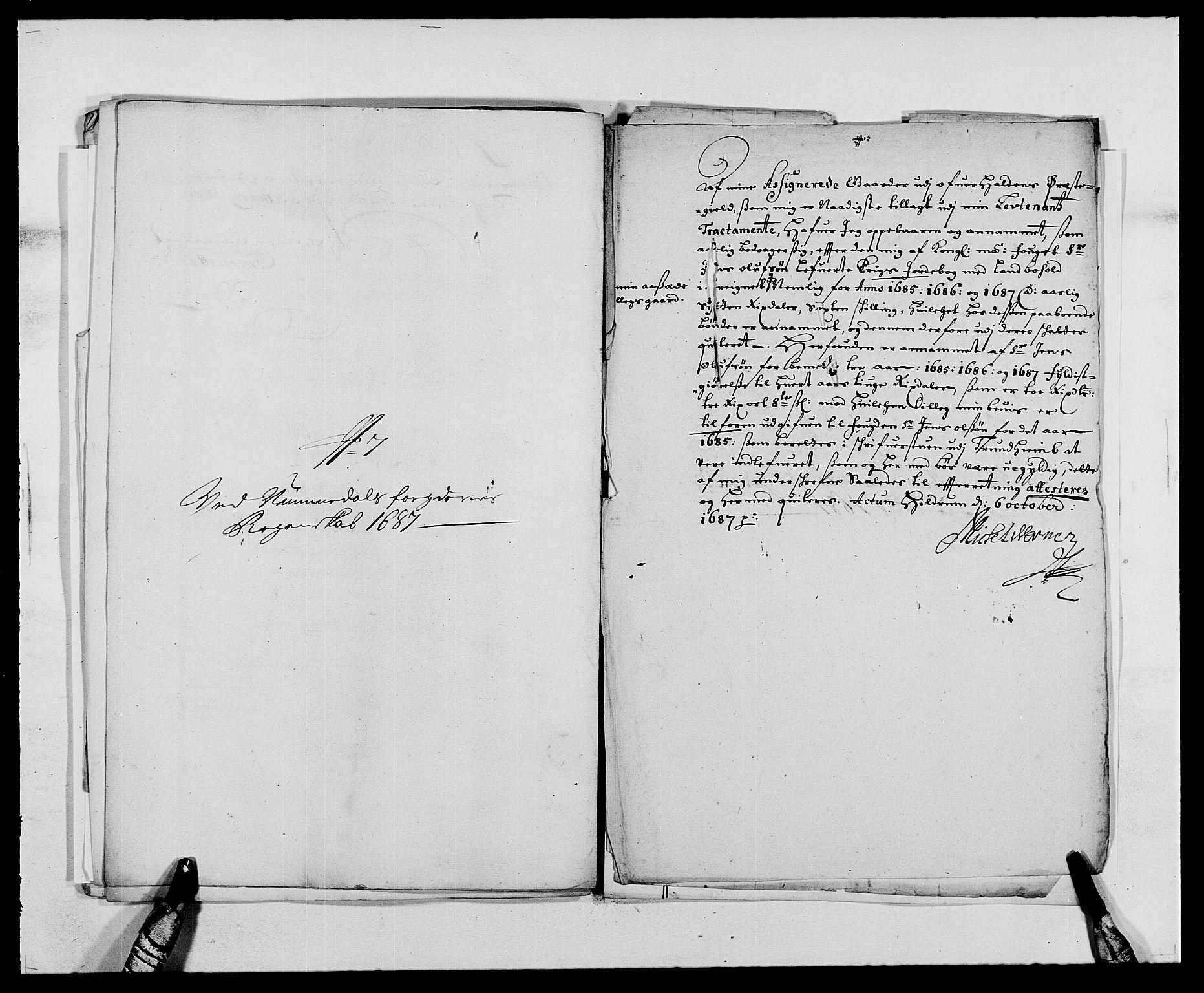 RA, Rentekammeret inntil 1814, Reviderte regnskaper, Fogderegnskap, R64/L4422: Fogderegnskap Namdal, 1687-1689, s. 85