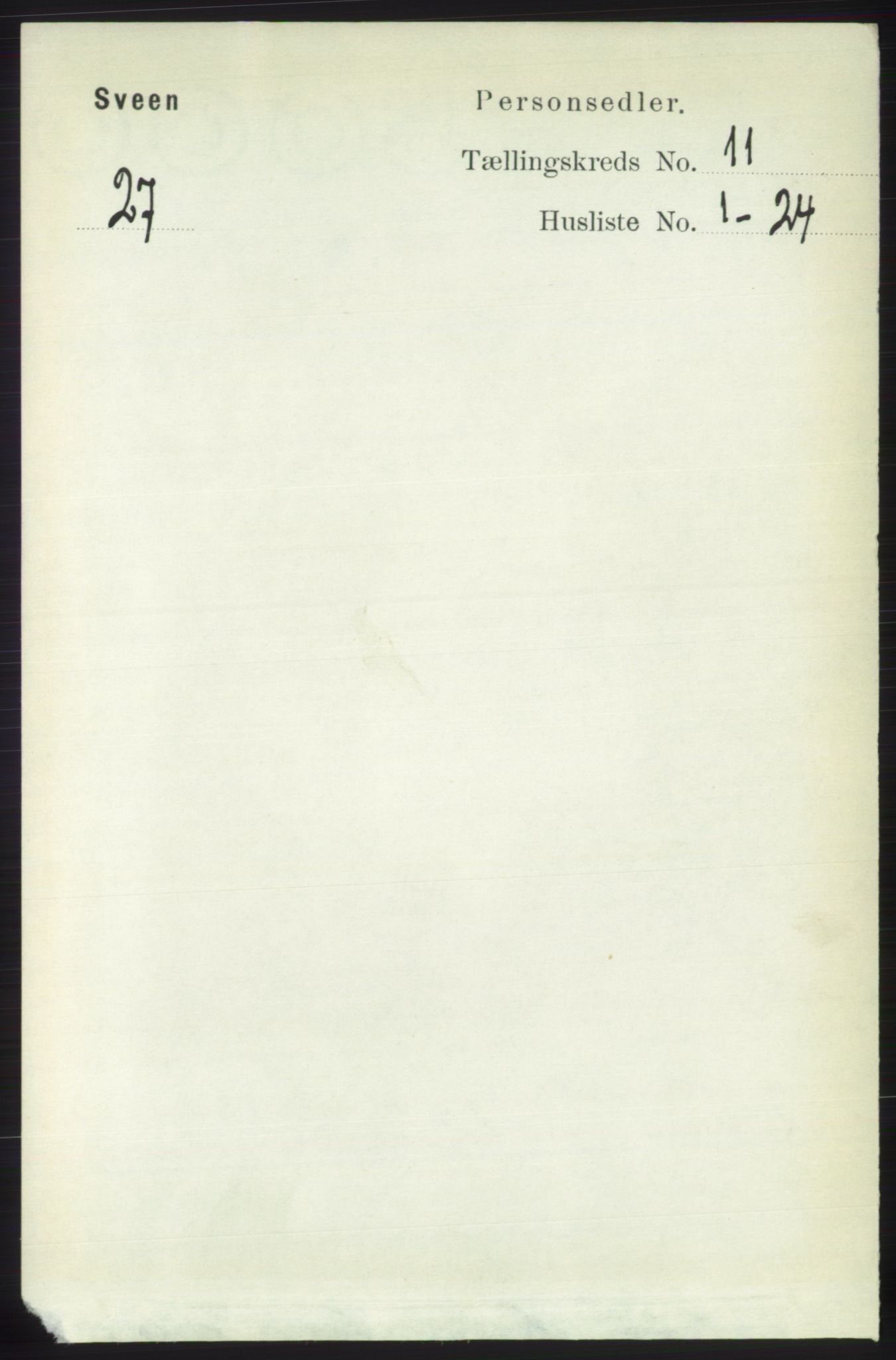 RA, Folketelling 1891 for 1216 Sveio herred, 1891, s. 3121