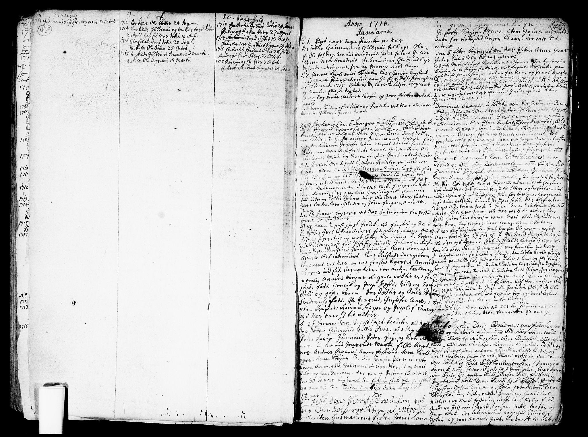 SAO, Nes prestekontor Kirkebøker, F/Fa/L0001: Ministerialbok nr. I 1, 1689-1716, s. 430