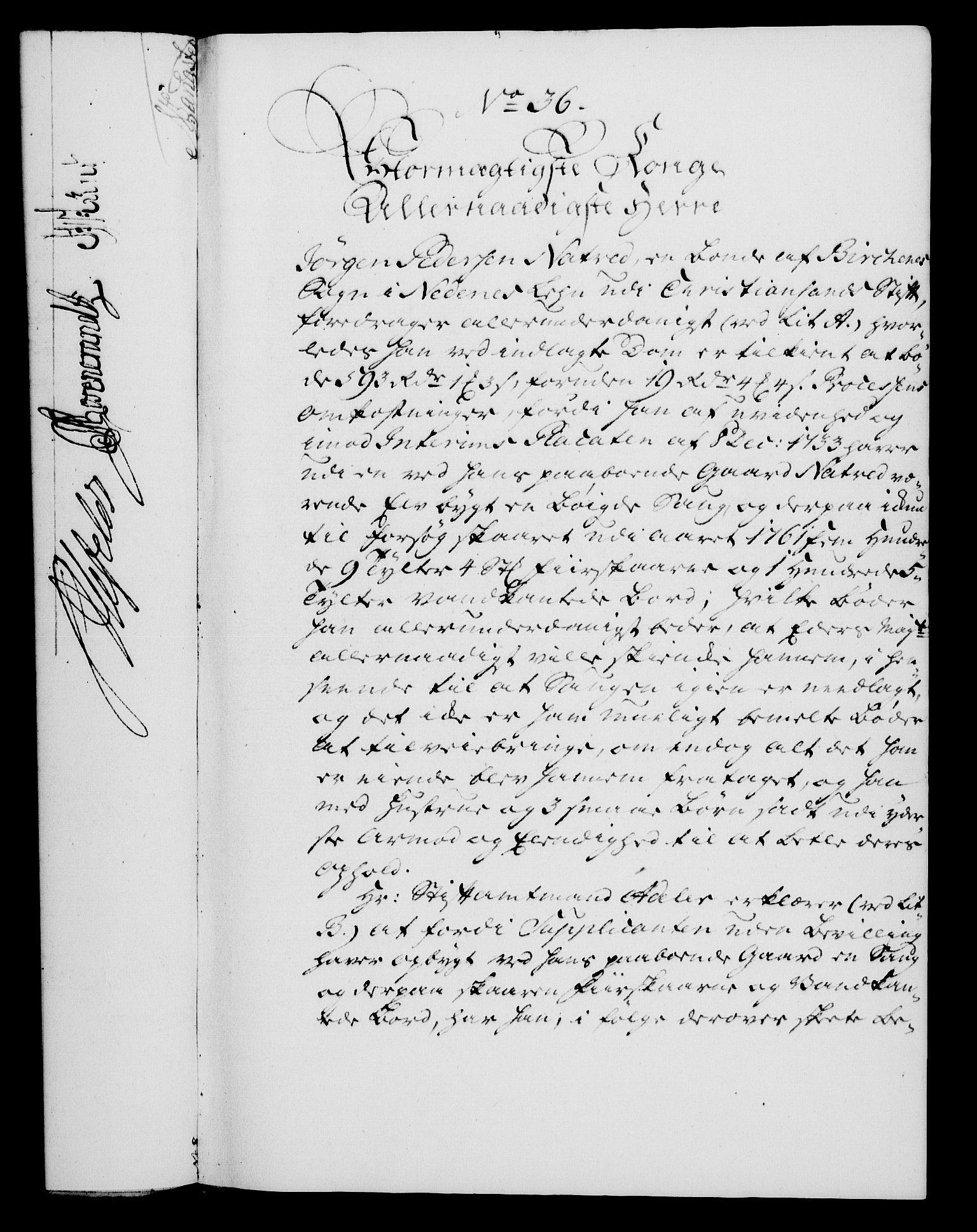 RA, Rentekammeret, Kammerkanselliet, G/Gf/Gfa/L0045: Norsk relasjons- og resolusjonsprotokoll (merket RK 52.45), 1763, s. 147
