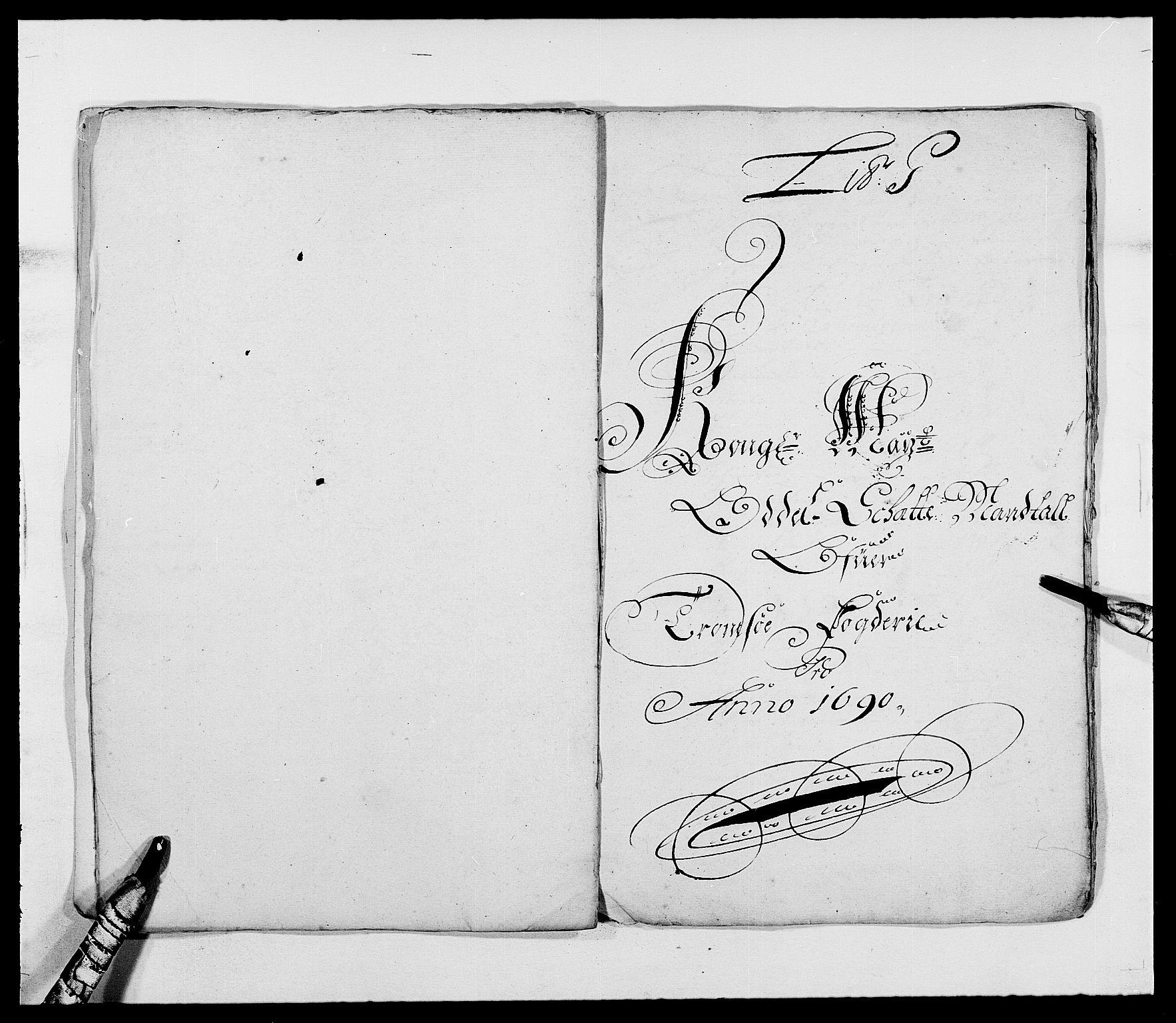 RA, Rentekammeret inntil 1814, Reviderte regnskaper, Fogderegnskap, R68/L4751: Fogderegnskap Senja og Troms, 1690-1693, s. 53