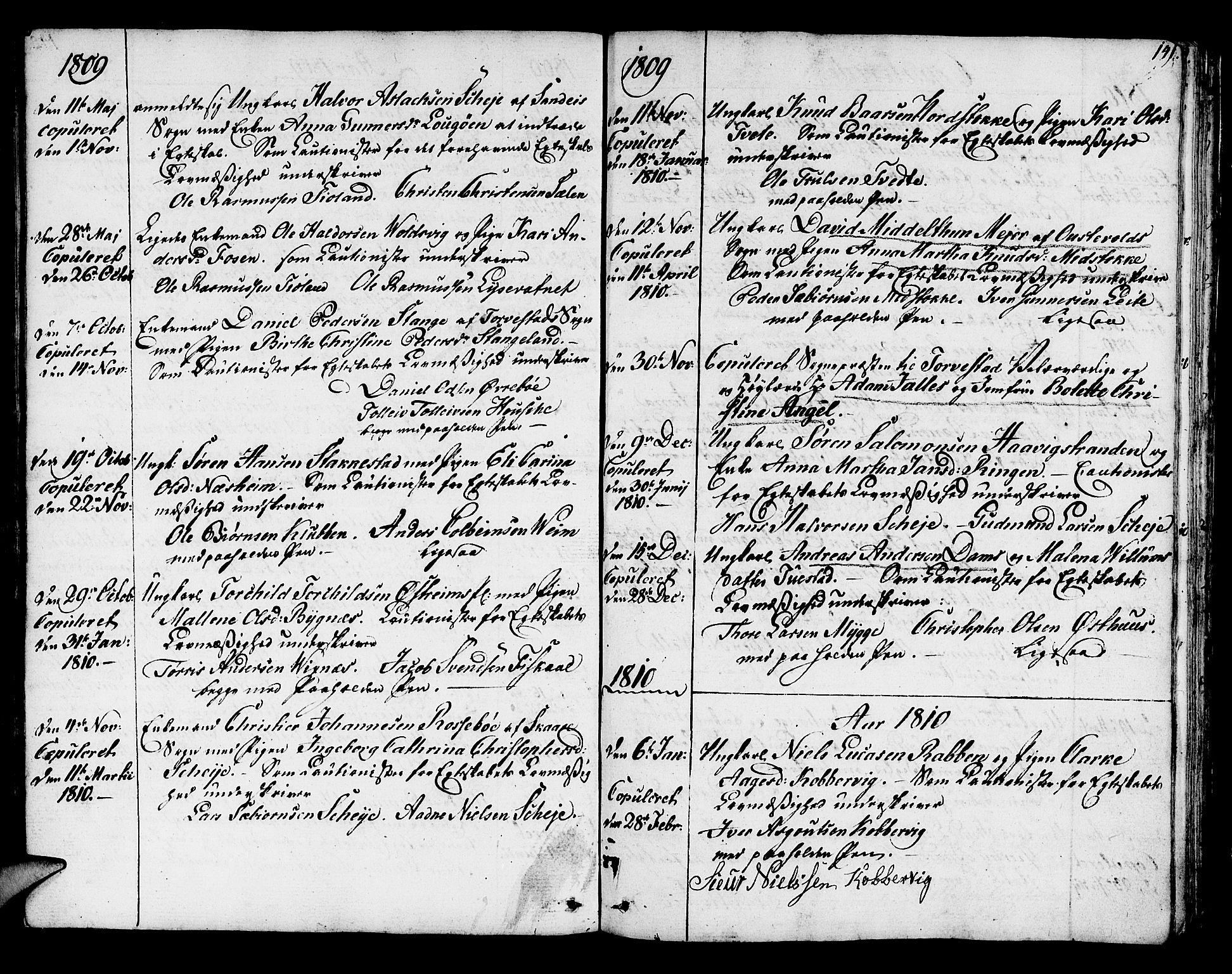 SAST, Avaldsnes sokneprestkontor, H/Ha/Haa/L0003: Ministerialbok nr. A 3, 1801-1817, s. 141
