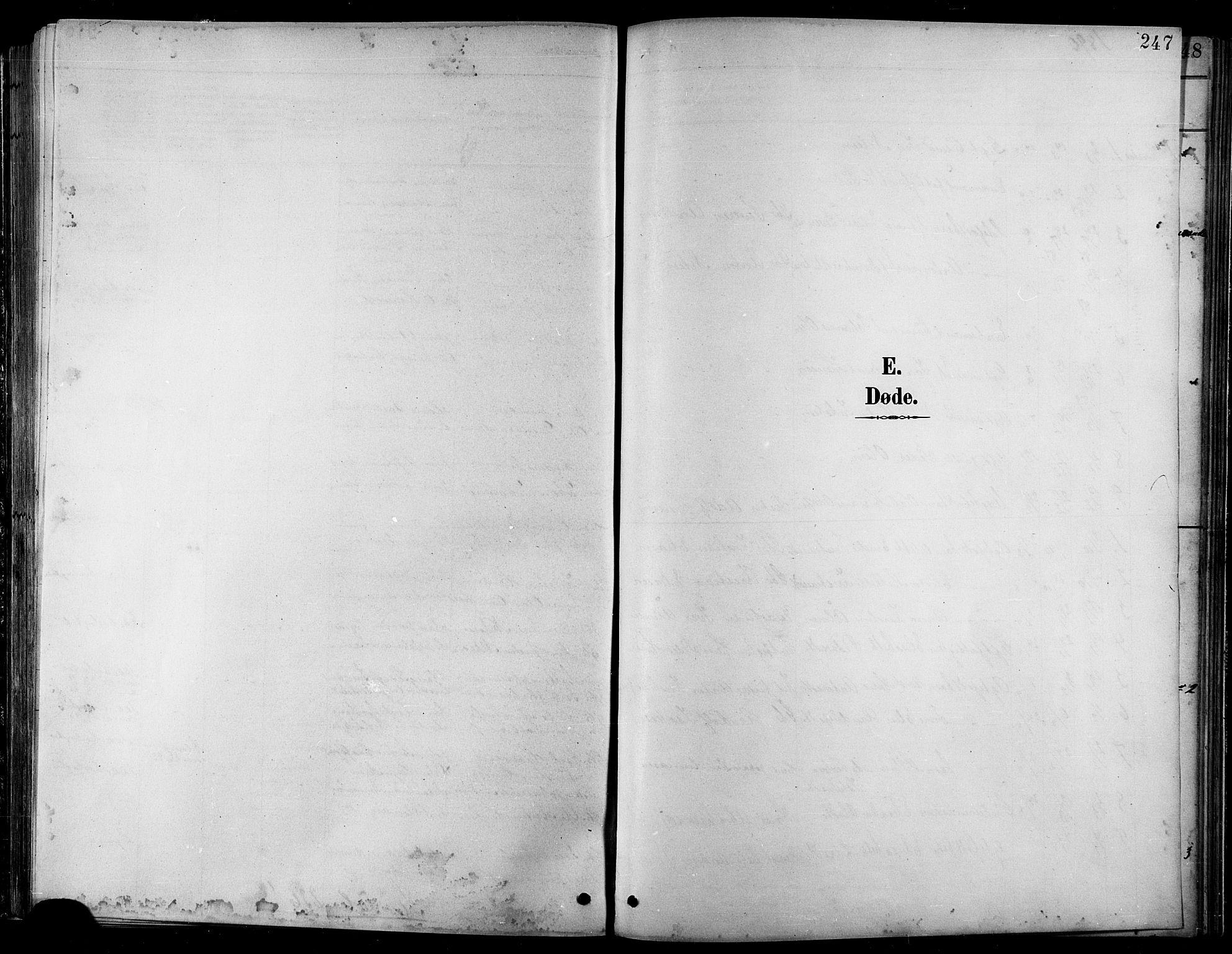 SATØ, Balsfjord sokneprestembete, Klokkerbok nr. 8, 1890-1906, s. 247