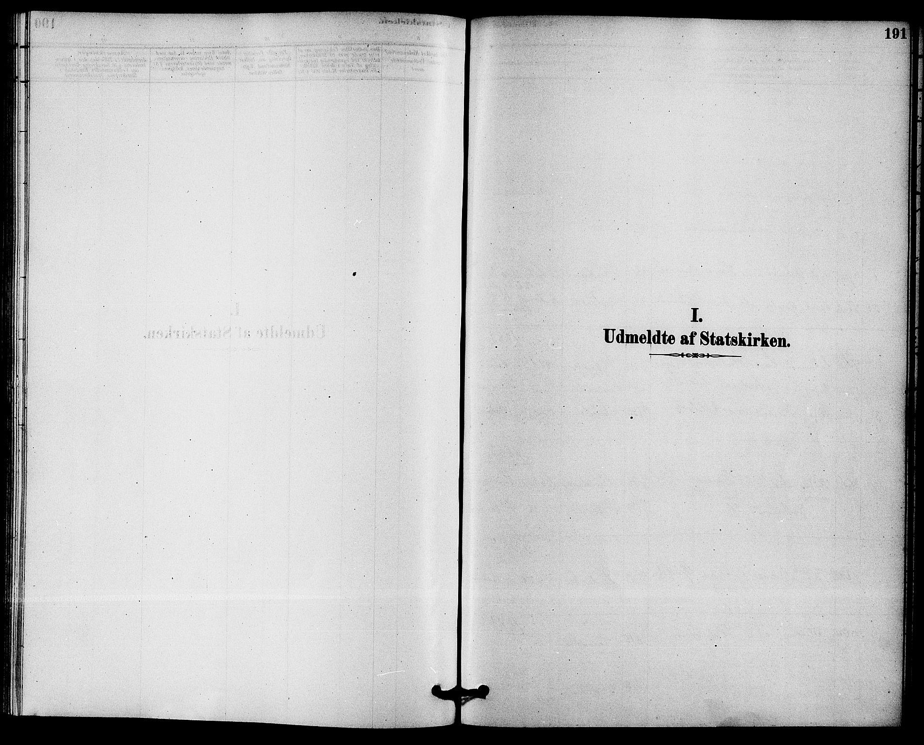 SAKO, Solum kirkebøker, F/Fb/L0001: Ministerialbok nr. II 1, 1877-1892, s. 191