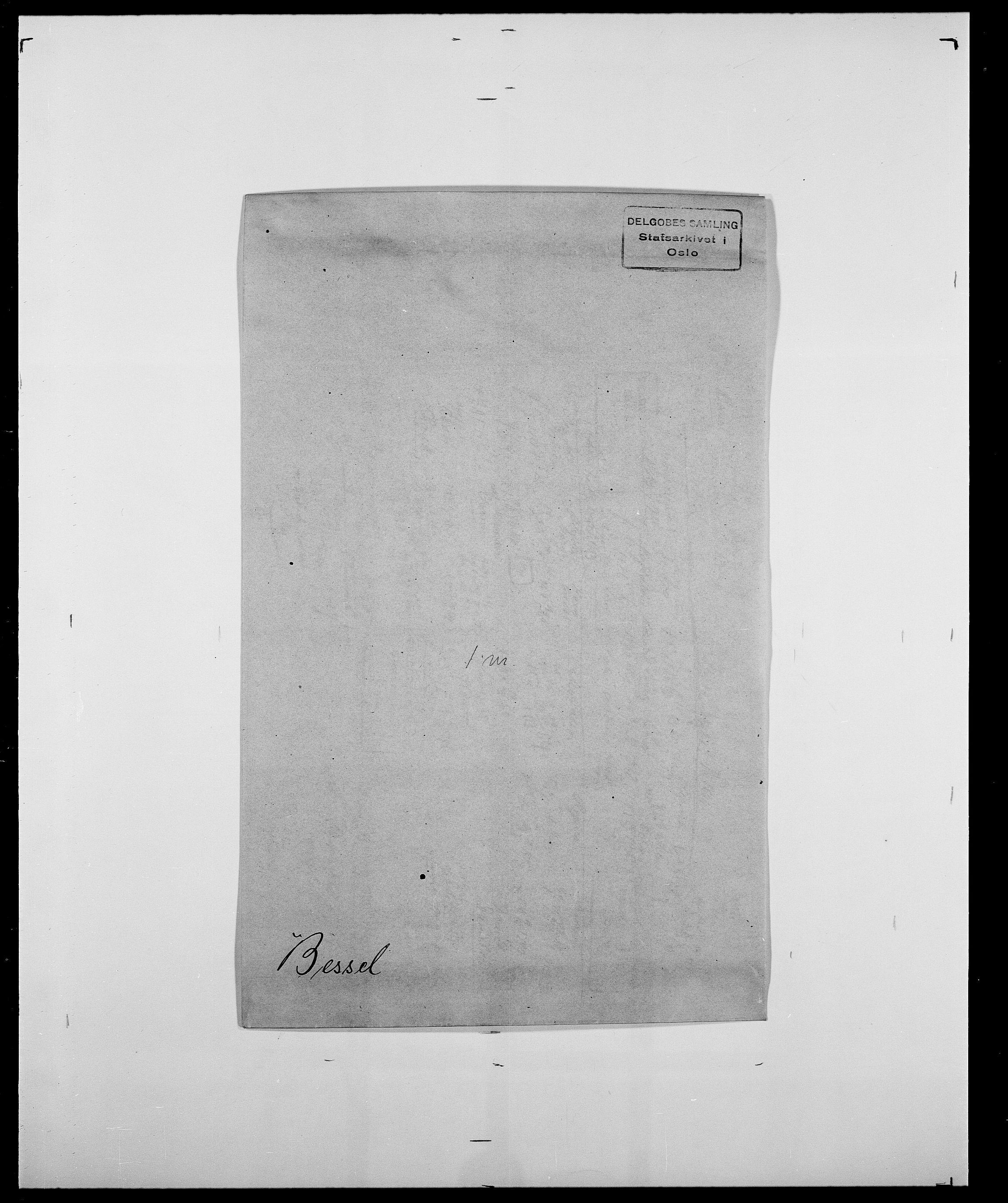 SAO, Delgobe, Charles Antoine - samling, D/Da/L0004: Bergendahl - Blære, s. 136
