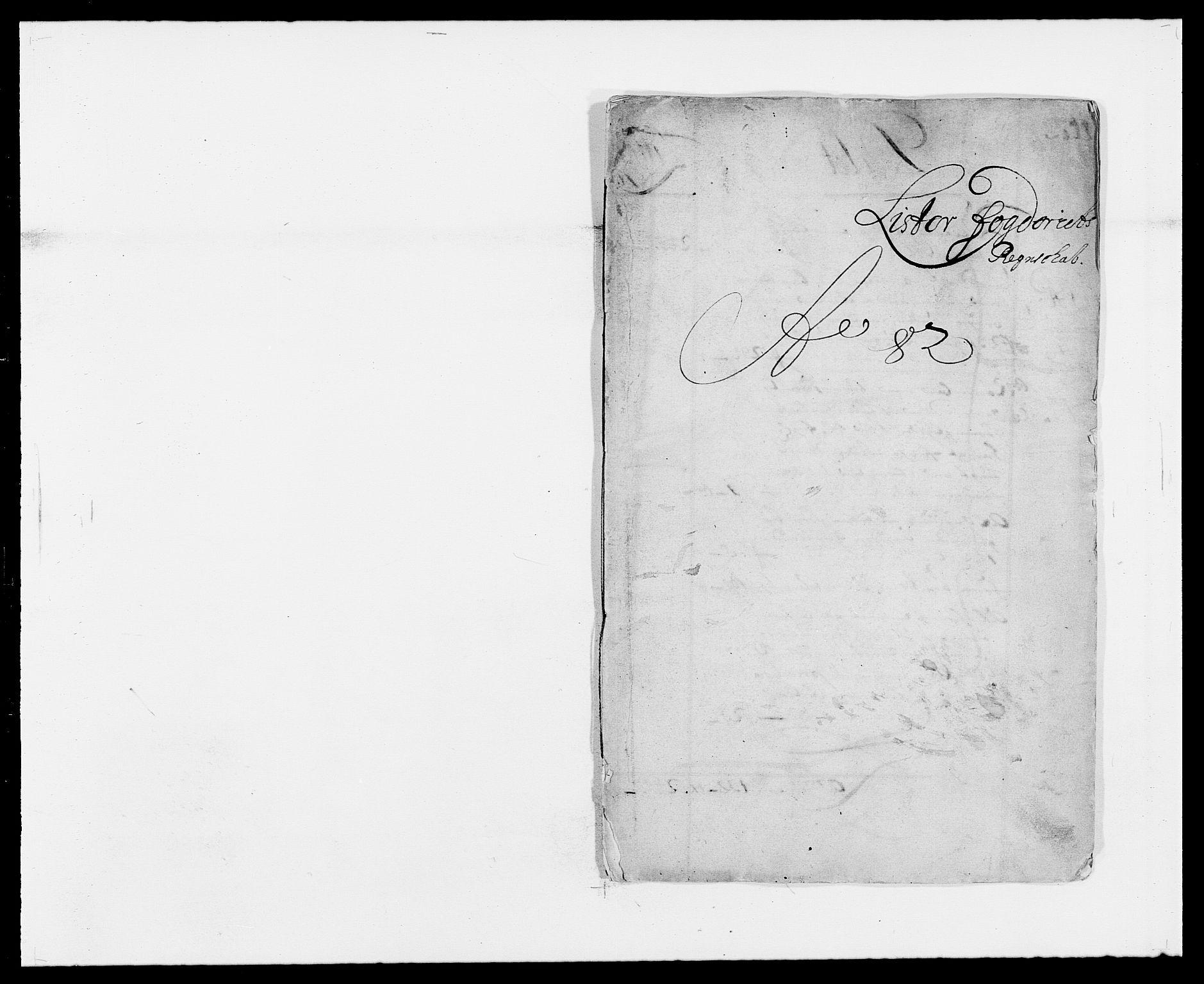 RA, Rentekammeret inntil 1814, Reviderte regnskaper, Fogderegnskap, R41/L2531: Fogderegnskap Lista, 1680-1682, s. 164