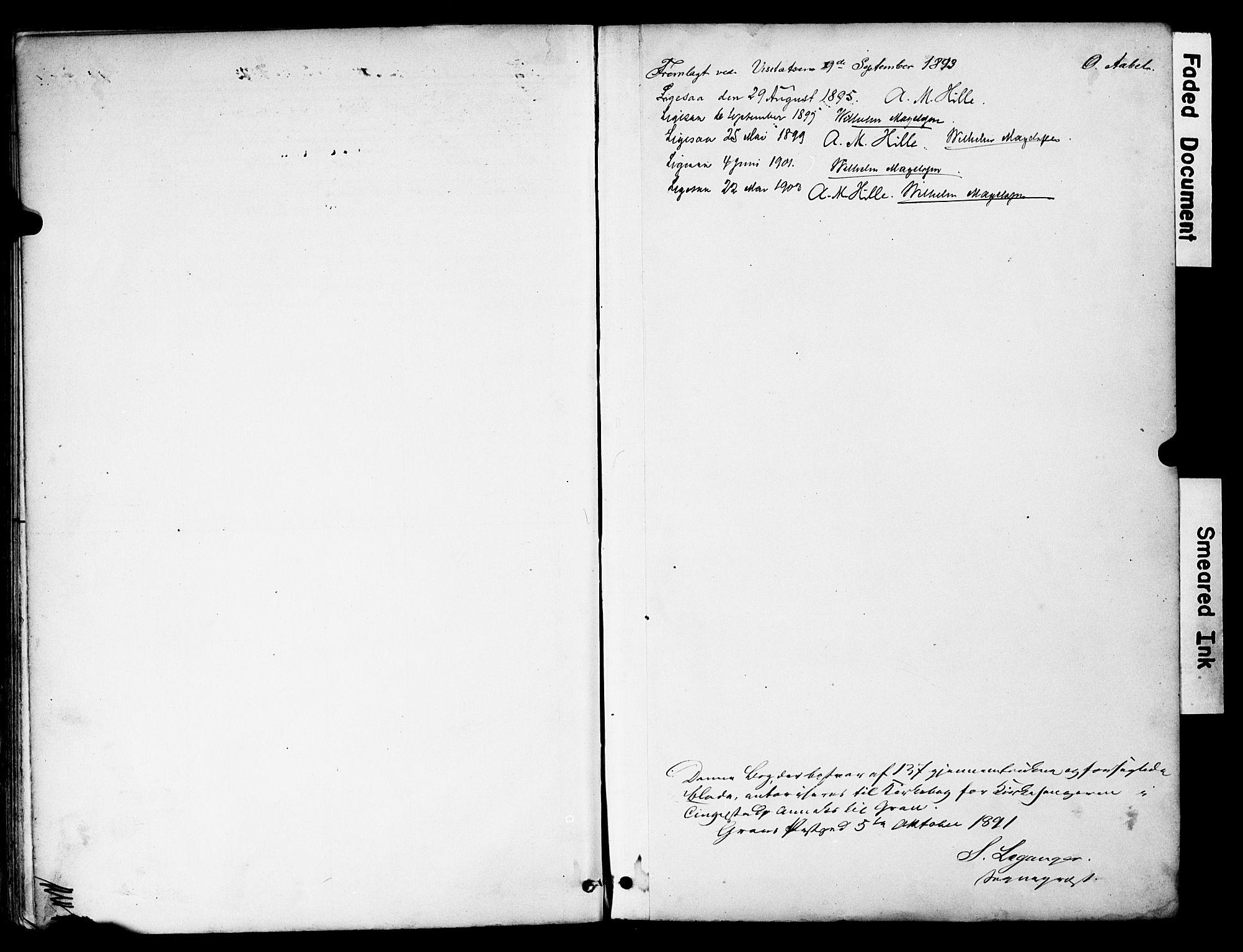 SAH, Brandbu prestekontor, Klokkerbok nr. 6, 1893-1902, s. 138