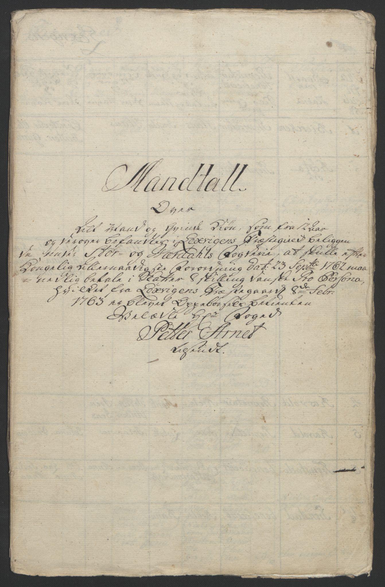 RA, Rentekammeret inntil 1814, Reviderte regnskaper, Fogderegnskap, R62/L4303: Ekstraskatten Stjørdal og Verdal, 1762-1763, s. 190