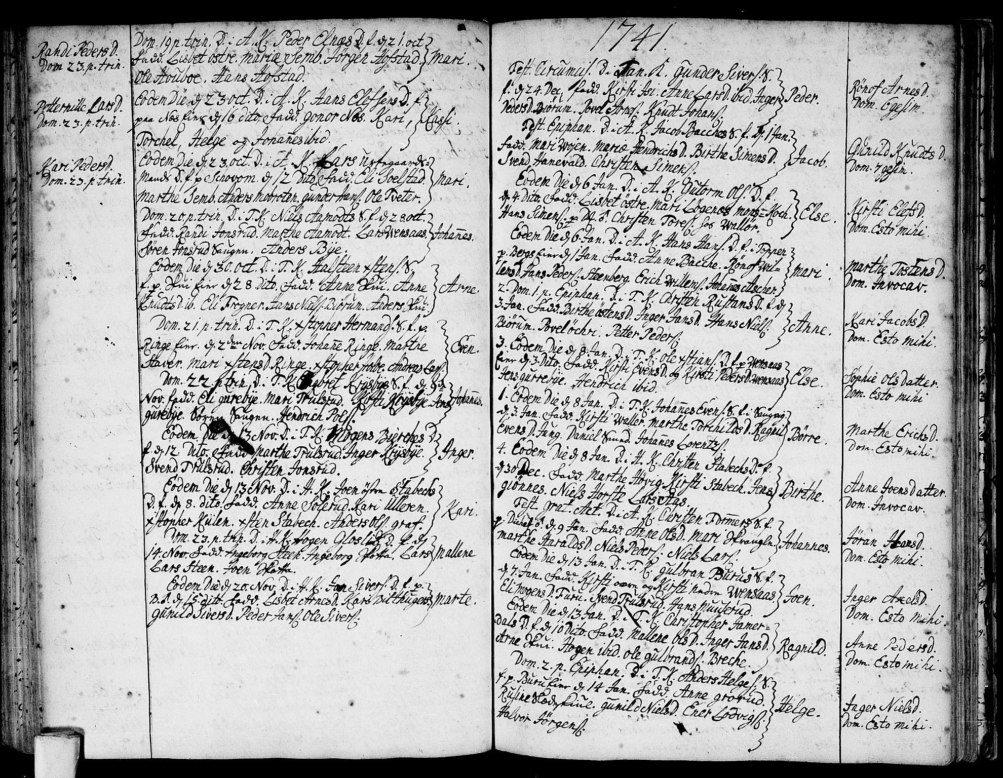 SAO, Asker prestekontor Kirkebøker, F/Fa/L0001: Ministerialbok nr. I 1, 1726-1744, s. 69