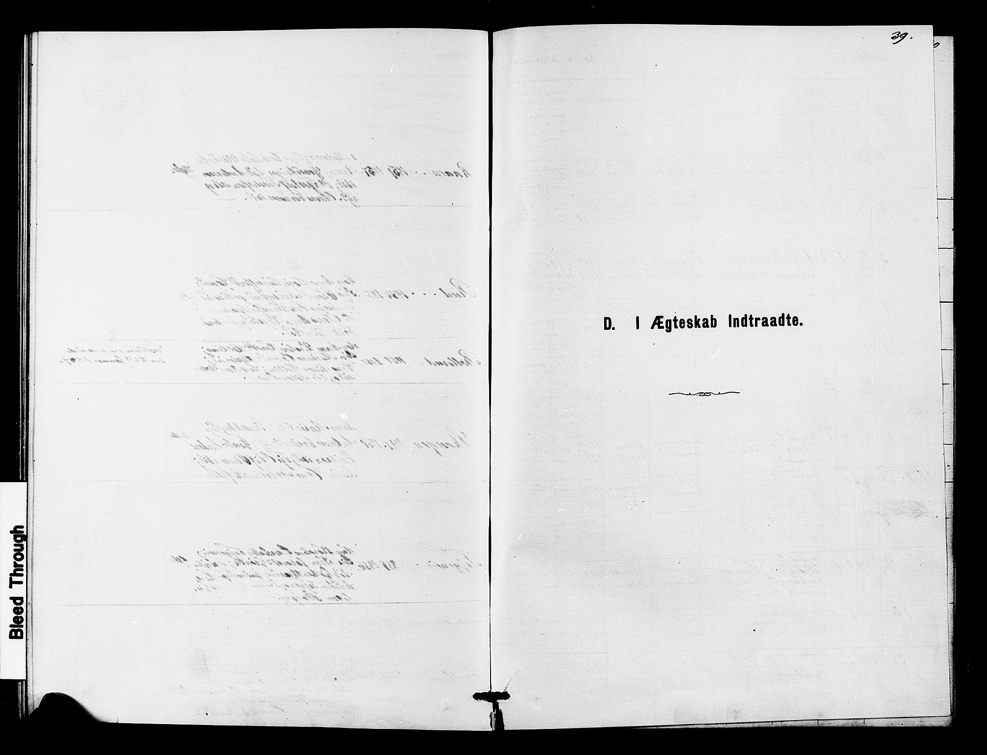 SAKO, Fiskum kirkebøker, G/Ga/L0004: Klokkerbok nr. 4, 1878-1887, s. 39