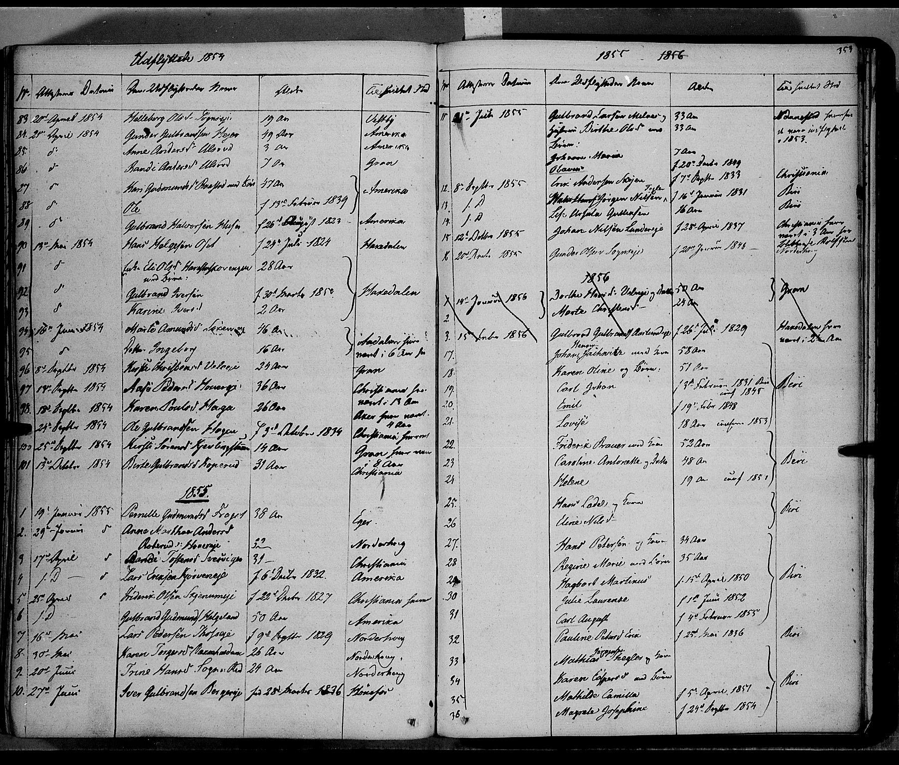 SAH, Jevnaker prestekontor, Ministerialbok nr. 6, 1837-1857, s. 353