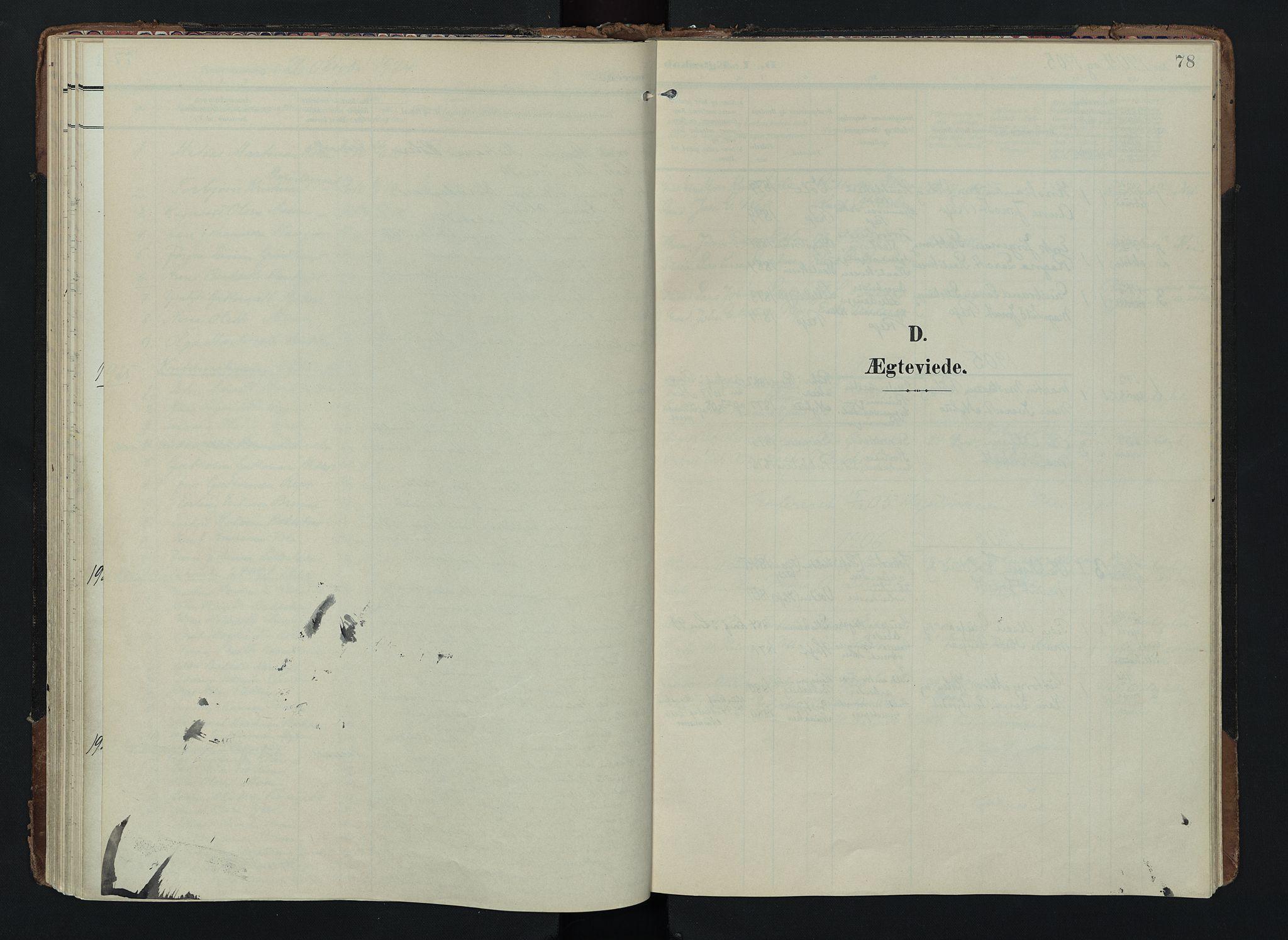 SAH, Lom prestekontor, K/L0012: Ministerialbok nr. 12, 1904-1928, s. 78