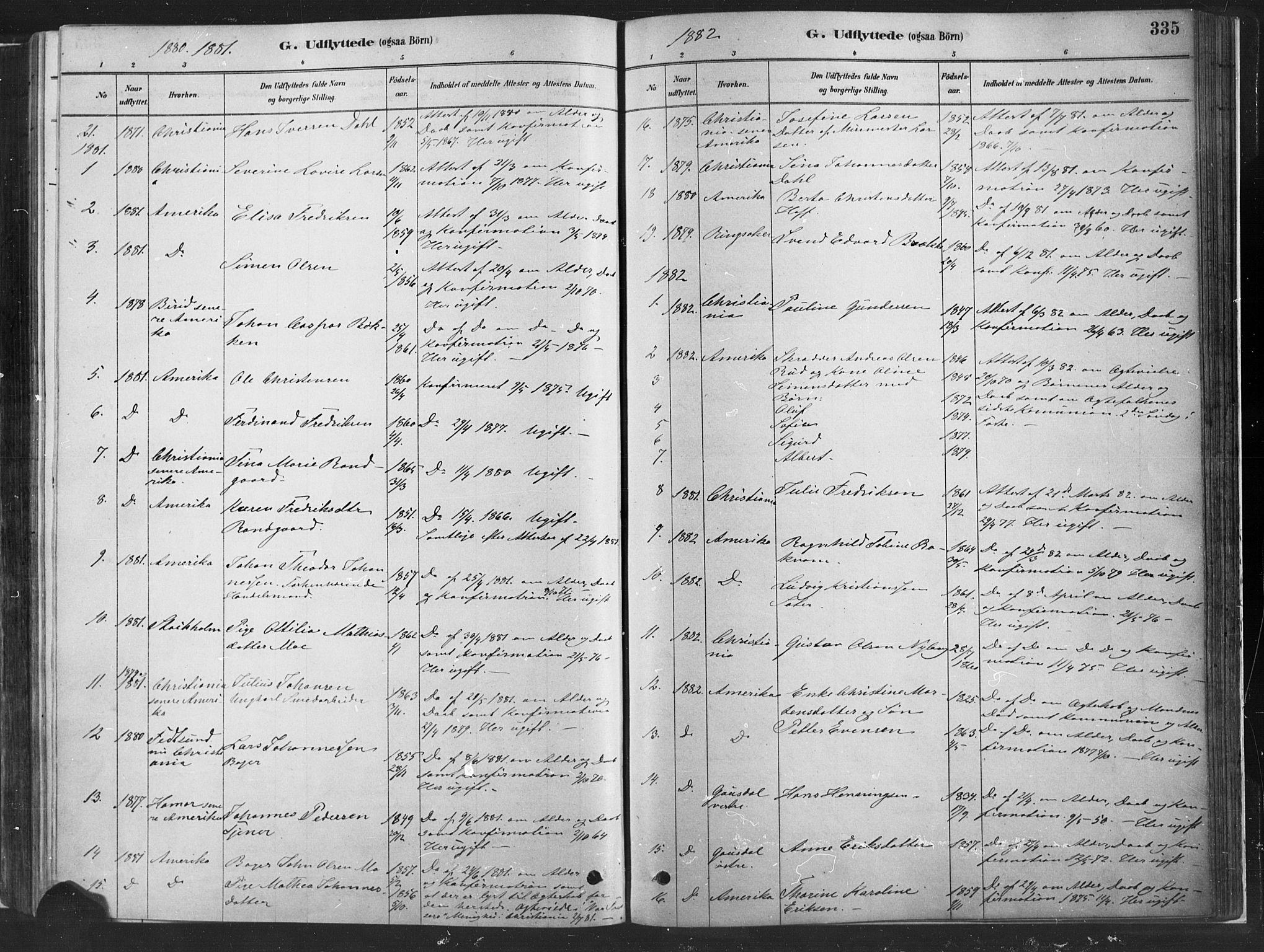 SAH, Fåberg prestekontor, Ministerialbok nr. 10, 1879-1900, s. 335